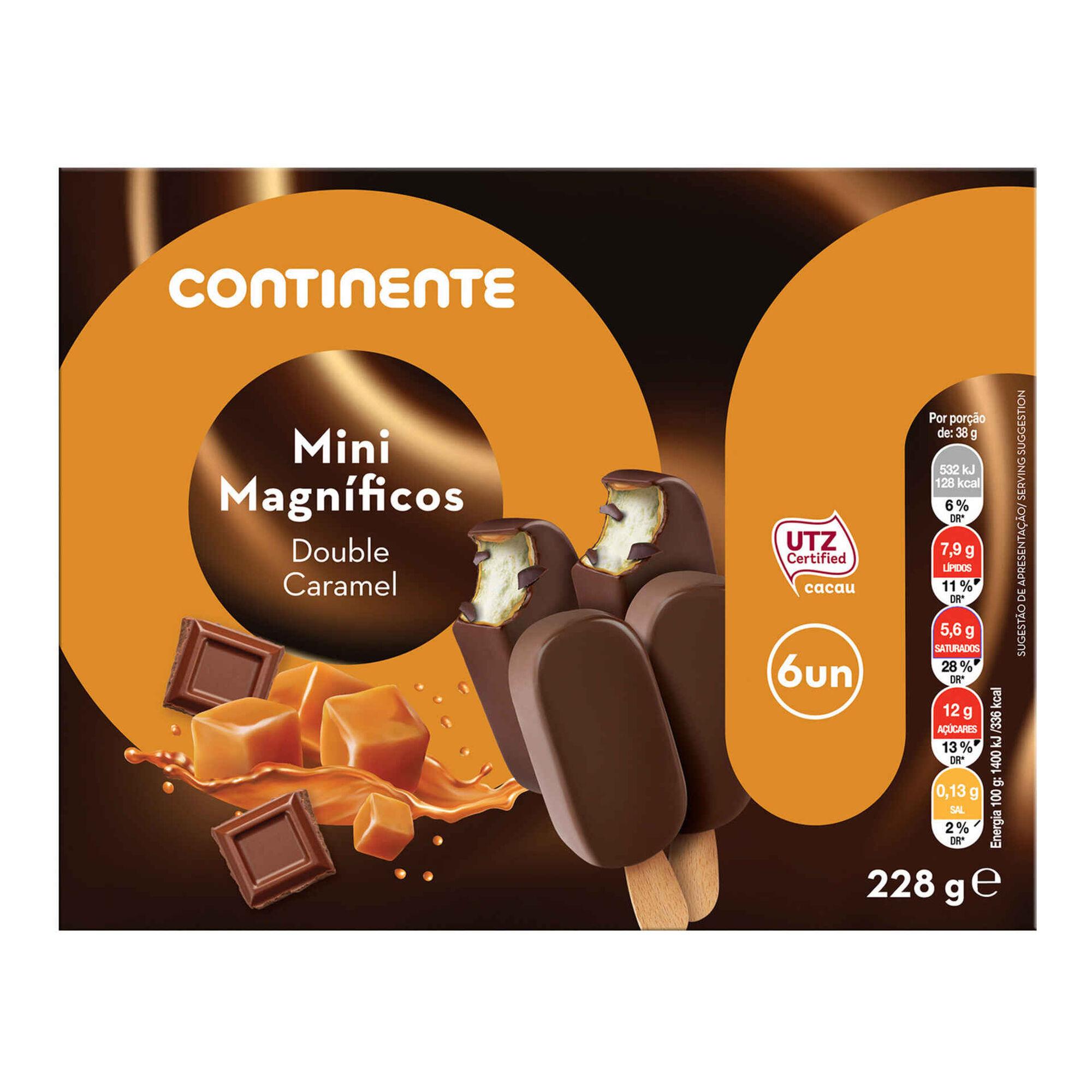 Gelado Mini Magnífico Double Caramelo