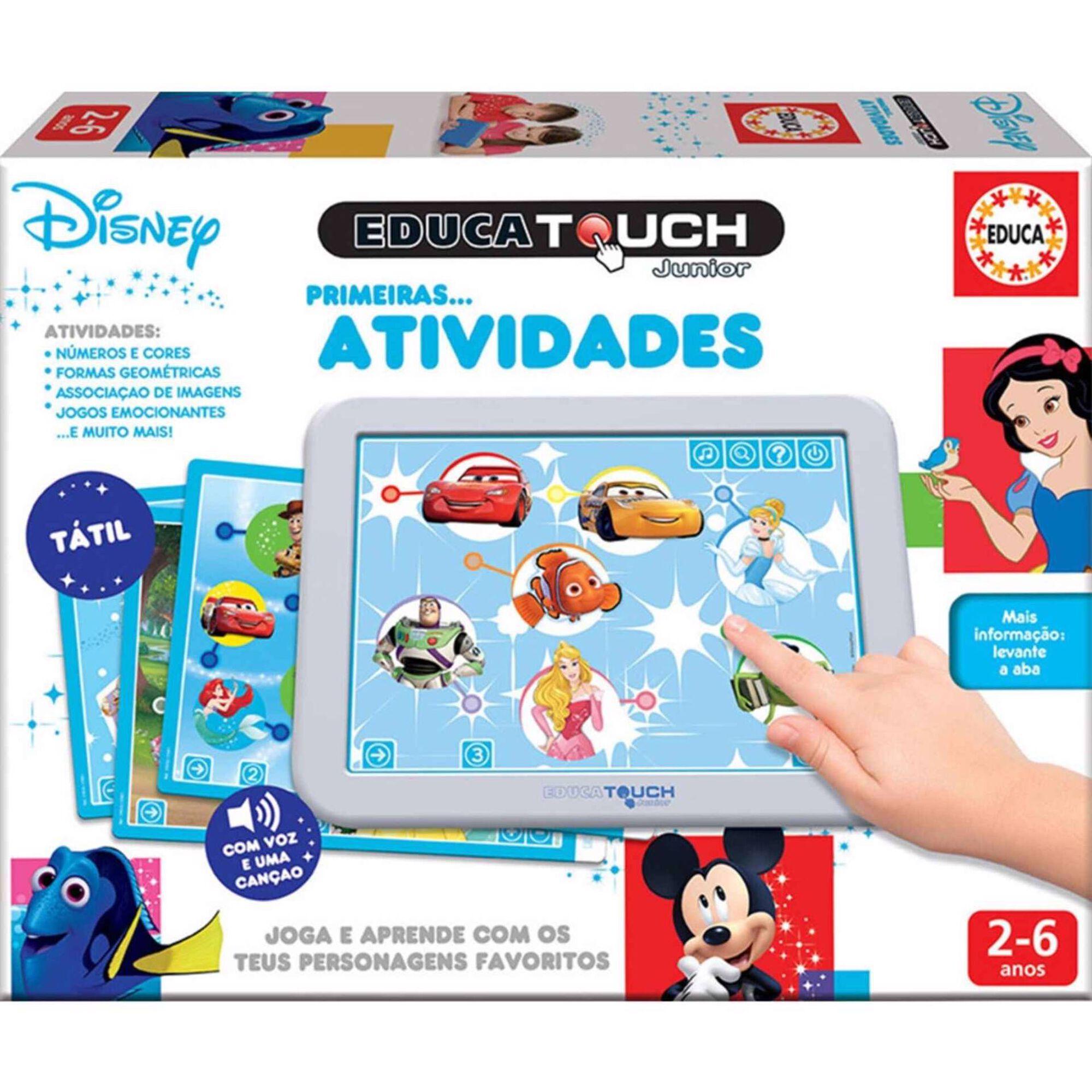 Etouch Disney Primeiras Atividades