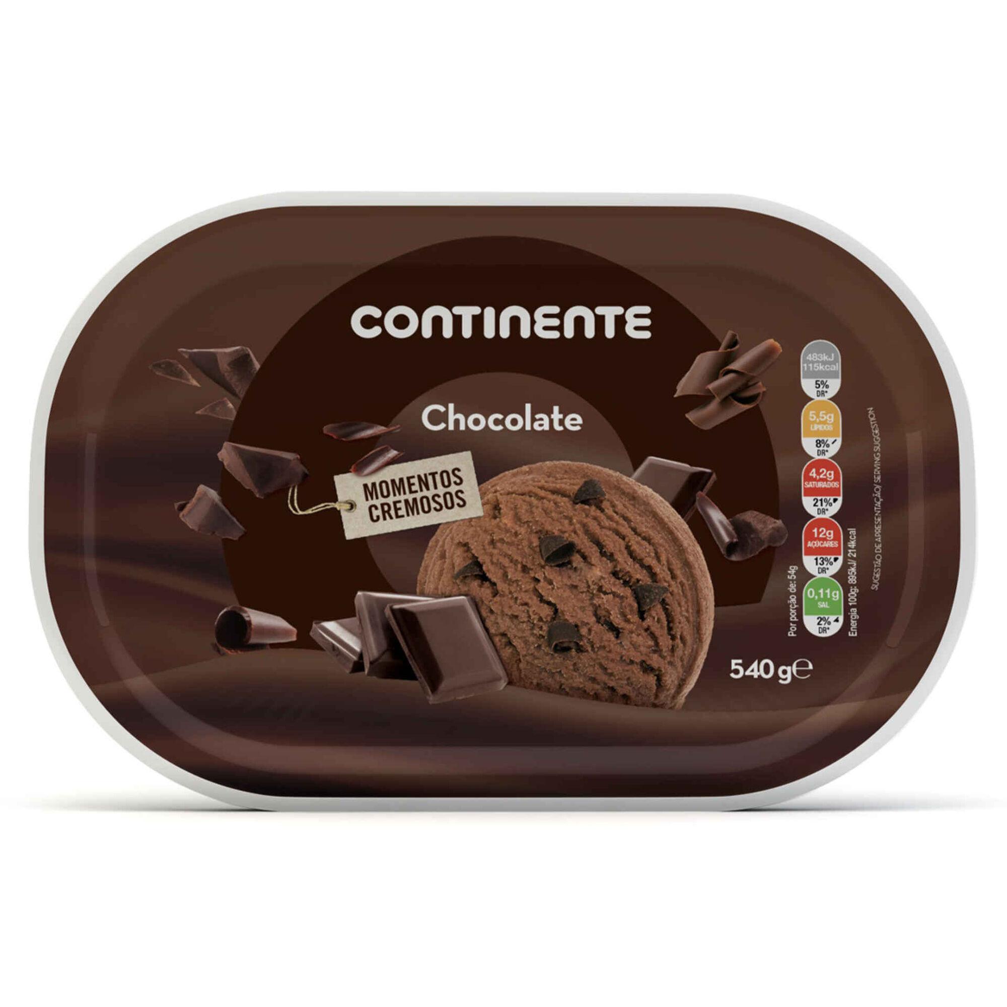 Gelado de Chocolate