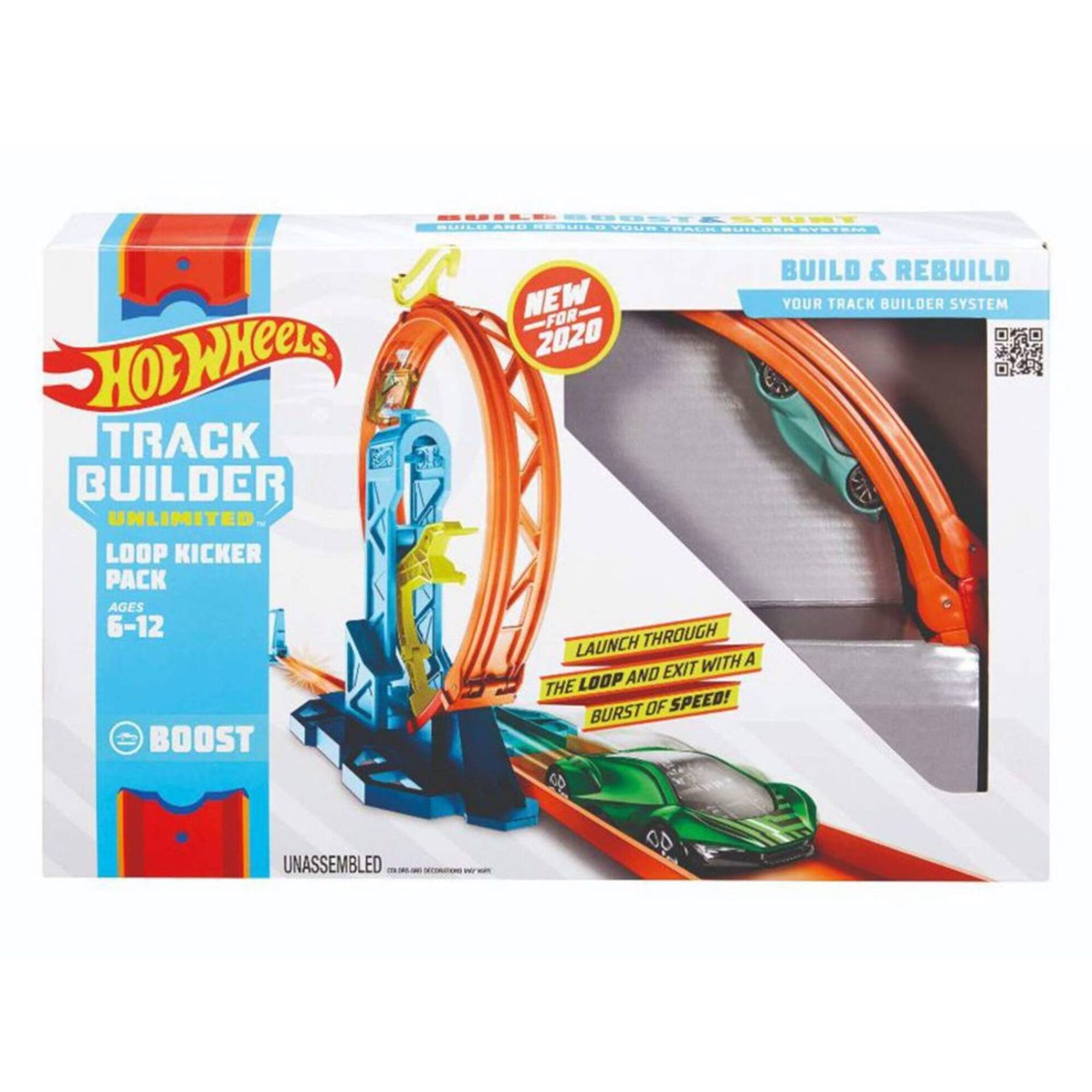 Pack Track Builder Hot Wheels (vários modelos)