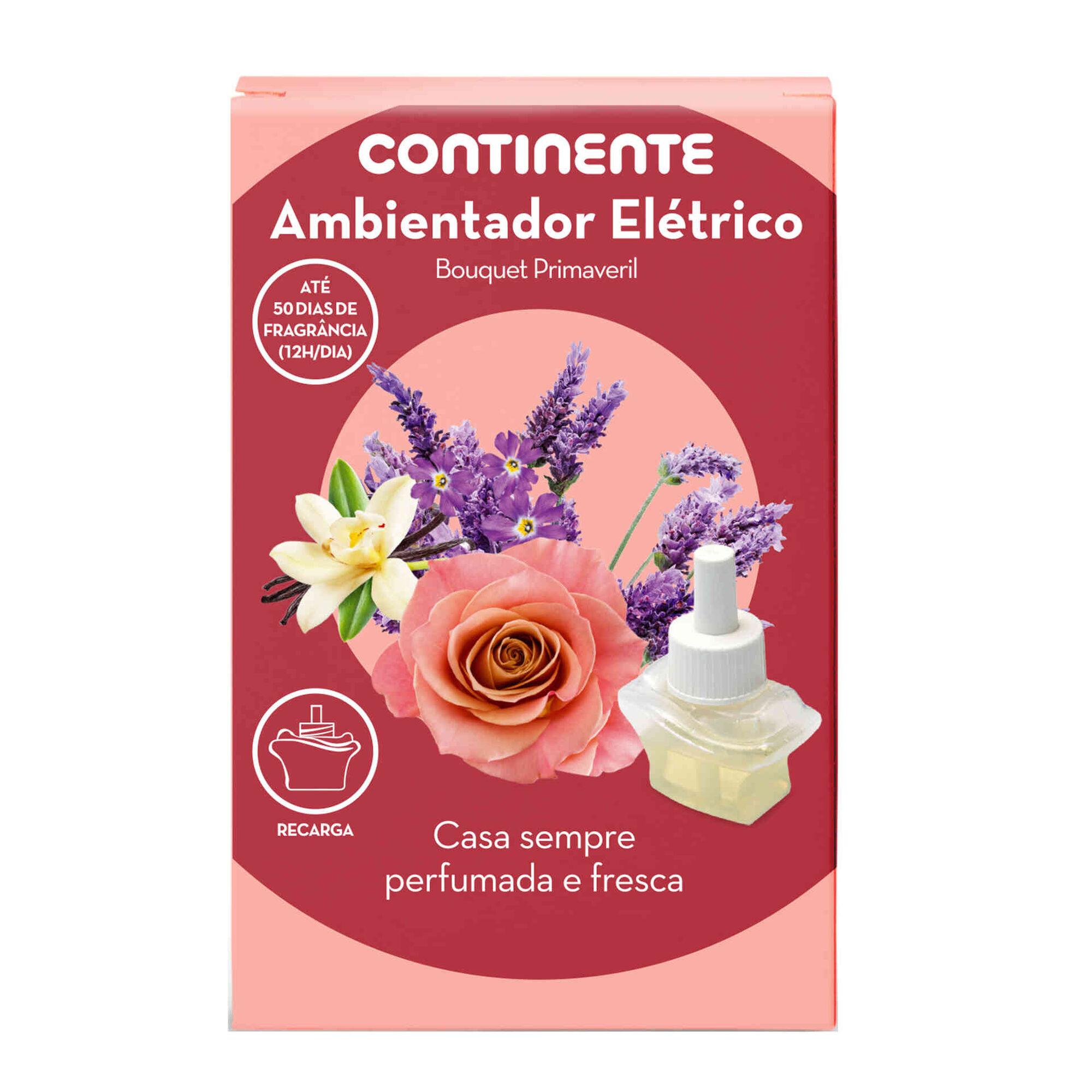 Ambientador Elétrico Recarga Bouquet Primaveril