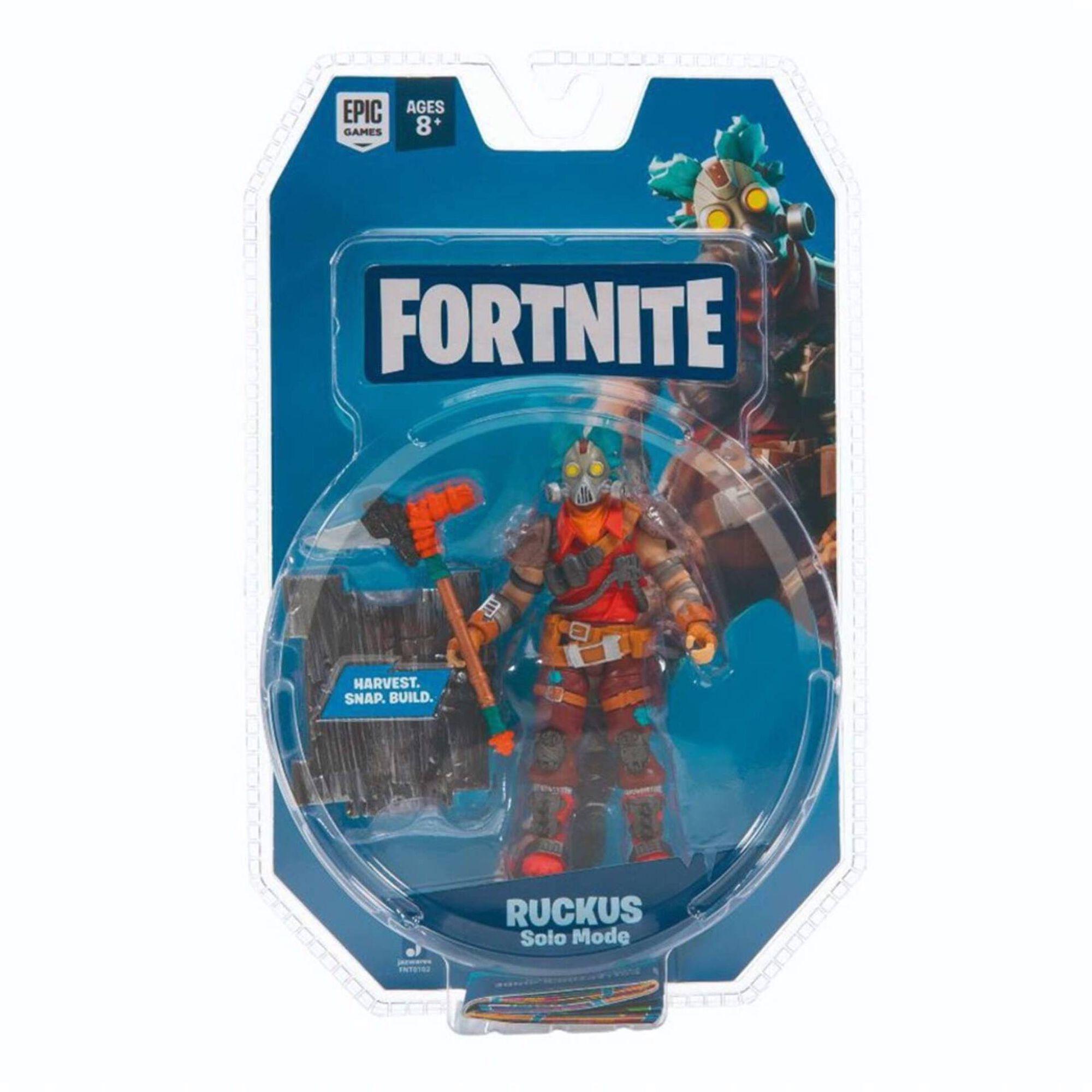 Figura Fortnite - Ruckus Solo Mode