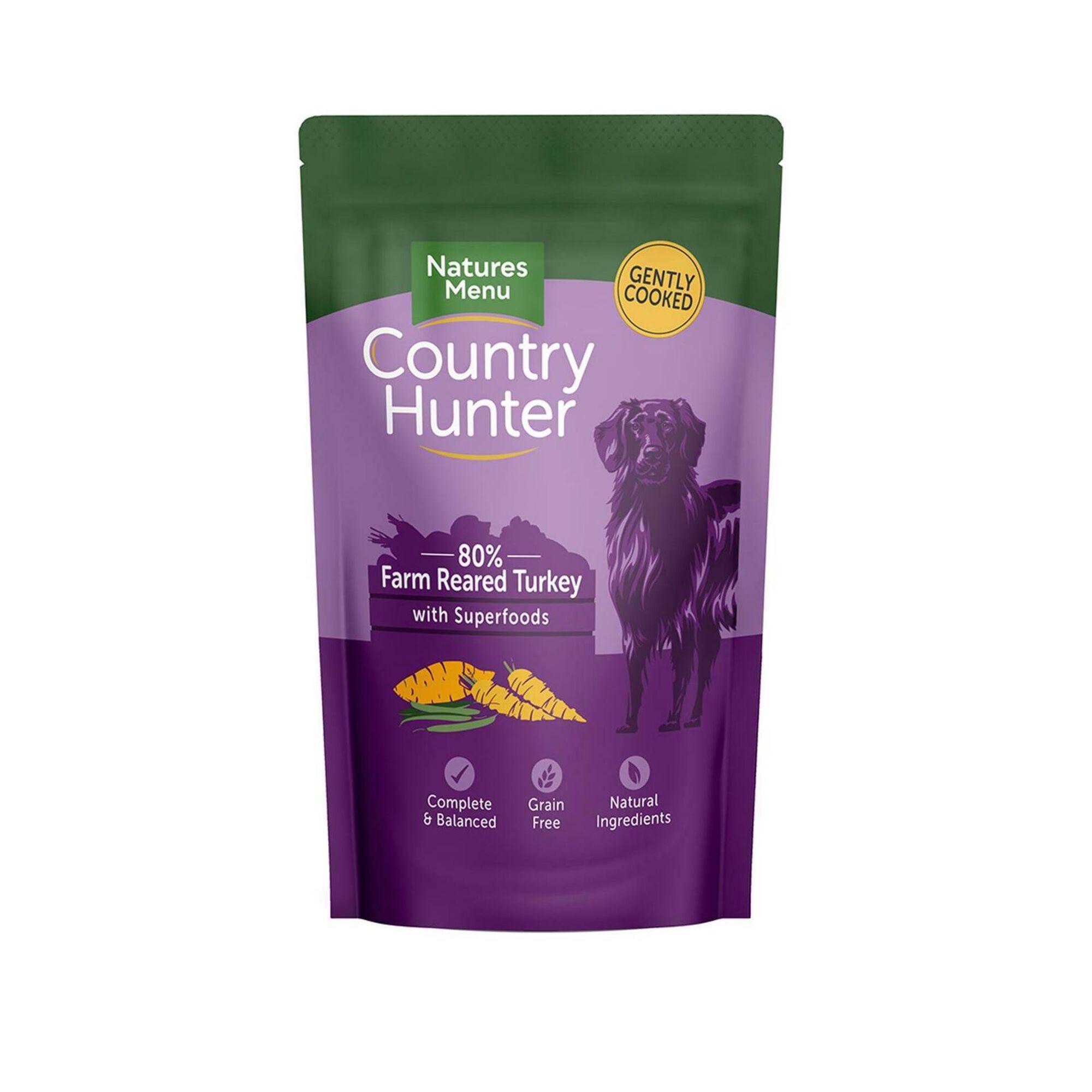 Comida Húmida para Cão Adulto Grain Free Peru Saquetas