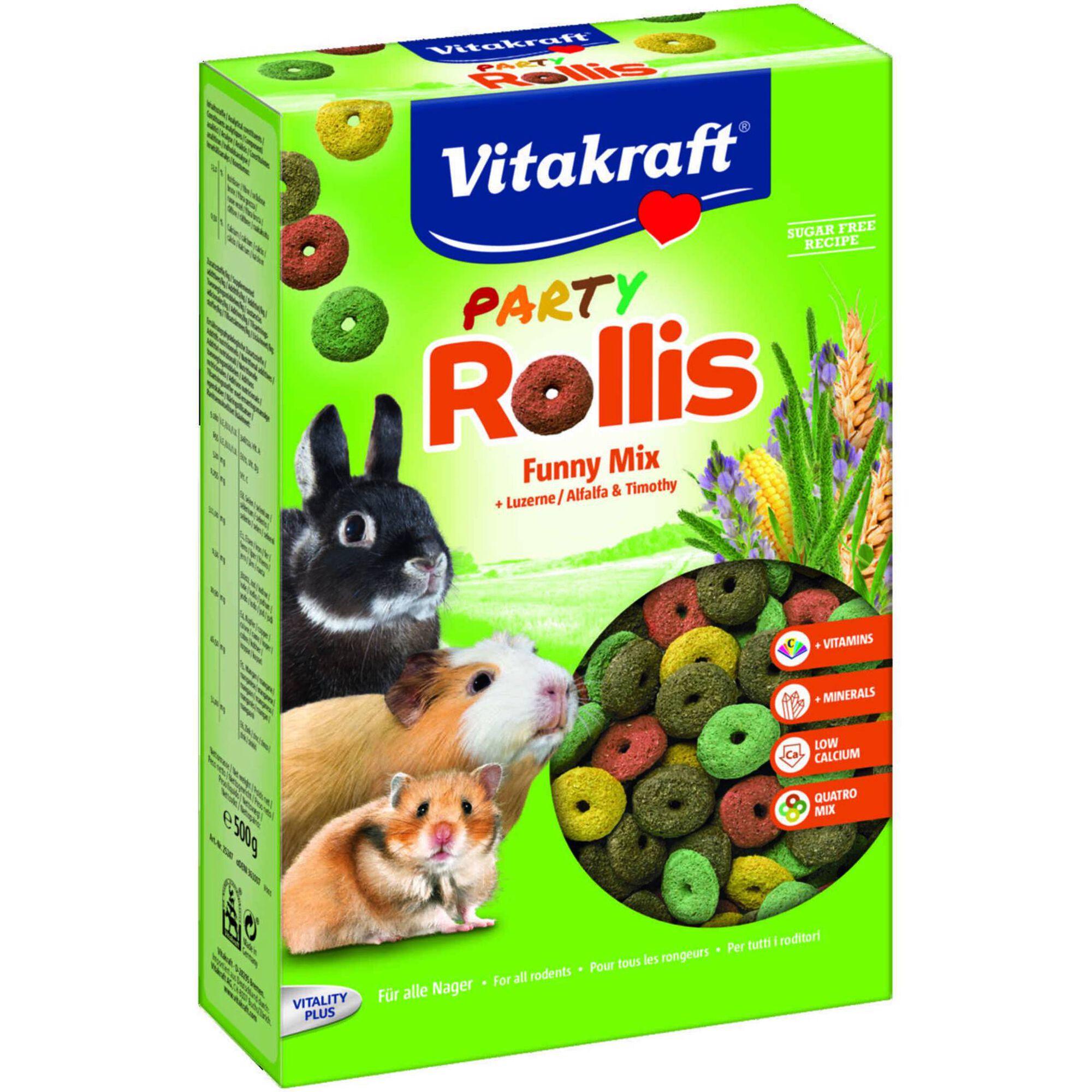 Comida para Roedor Rollis Party