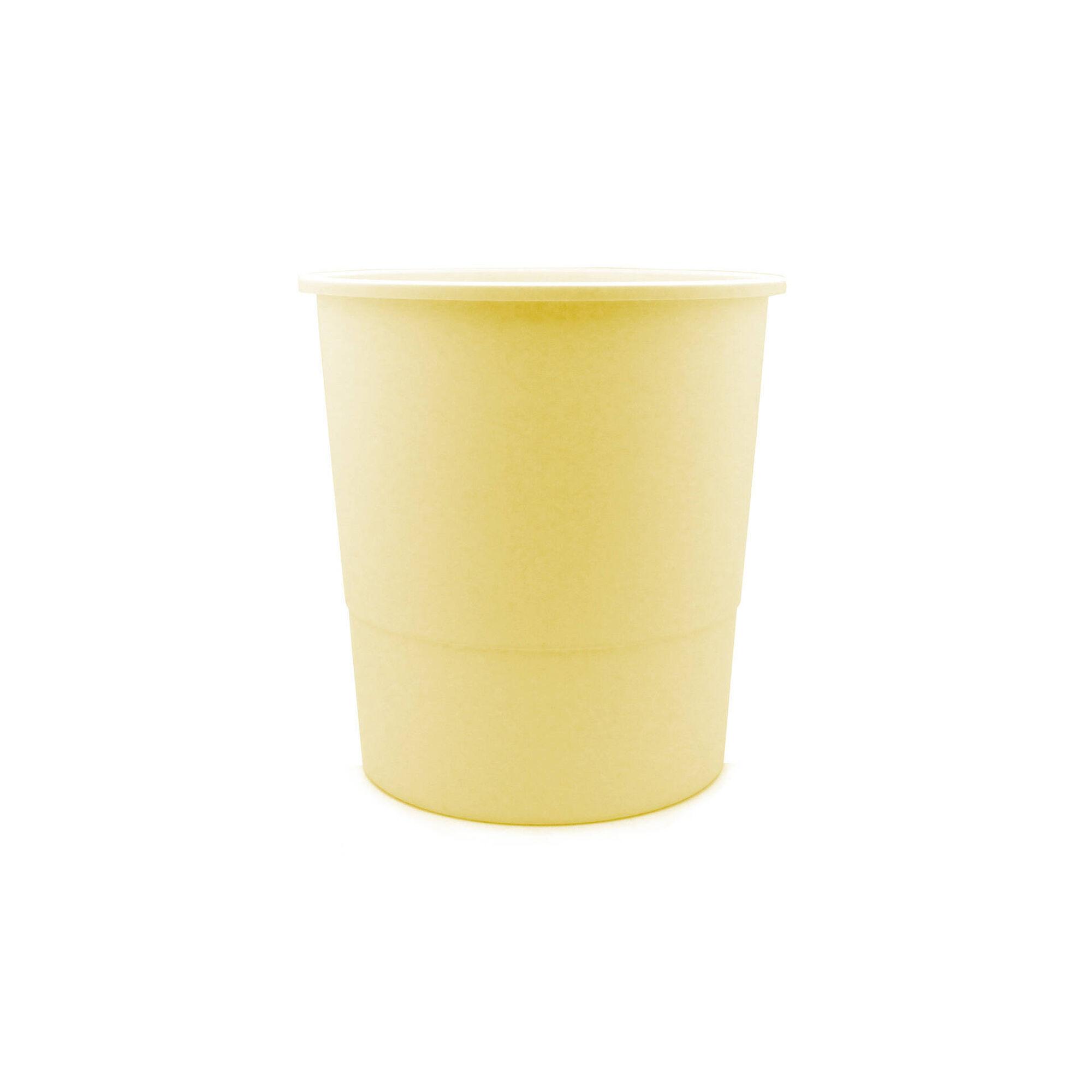 Cesto de Papéis Amarelo