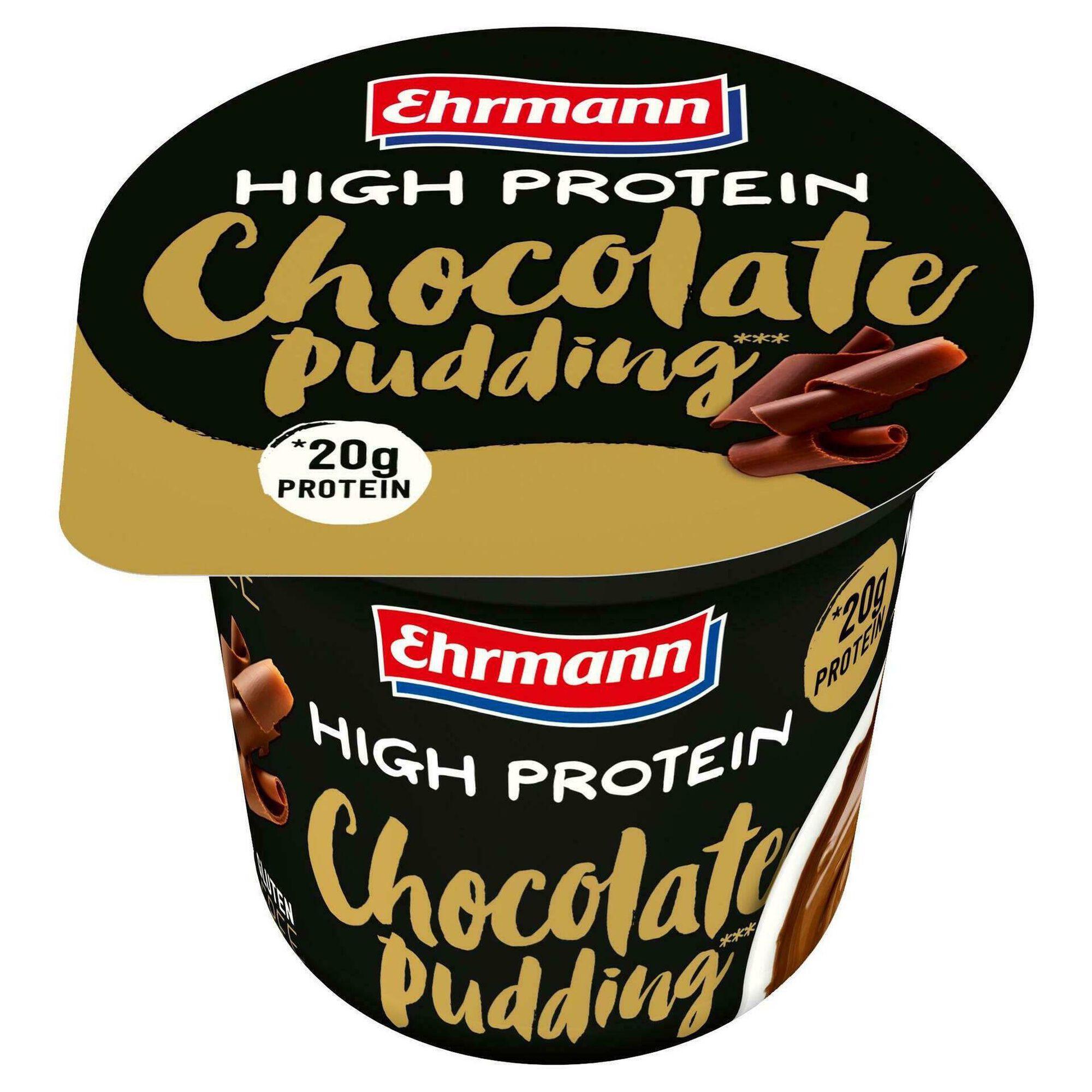 Pudim de Chocolate Rico em Proteína