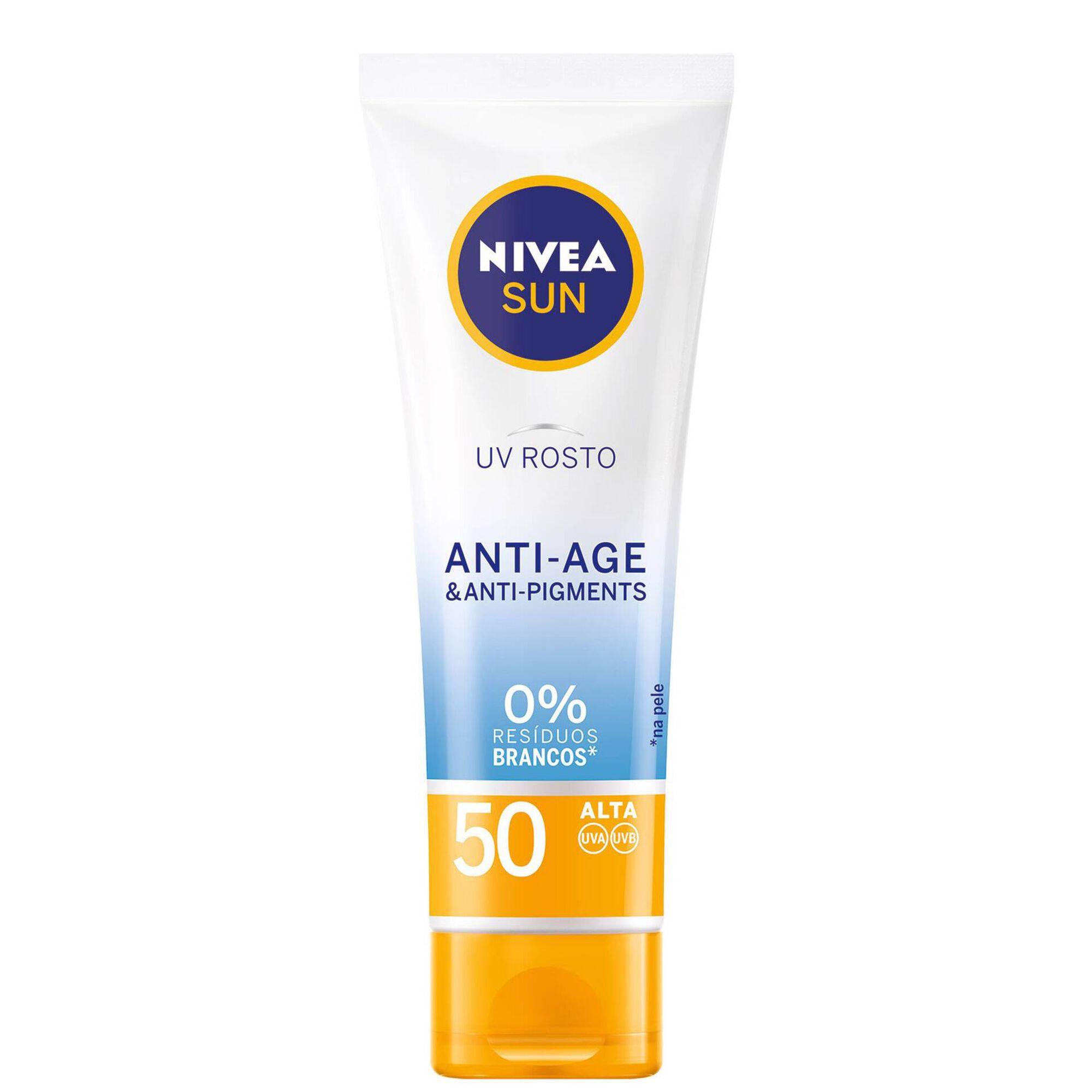 Protetor Solar Facial Anti-age & Anti-pigments FPS50
