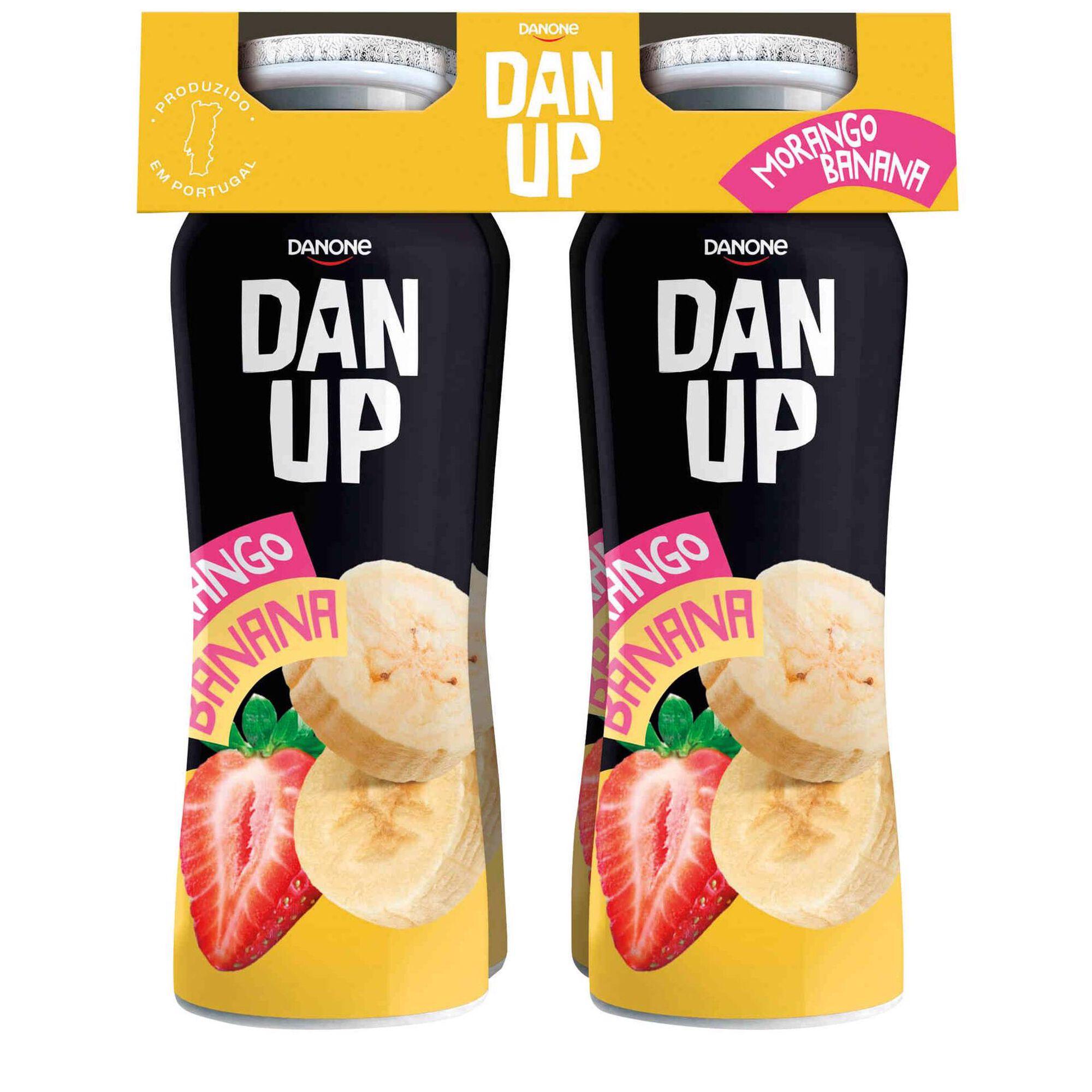 Iogurte Líquido Morango e Banana Danup