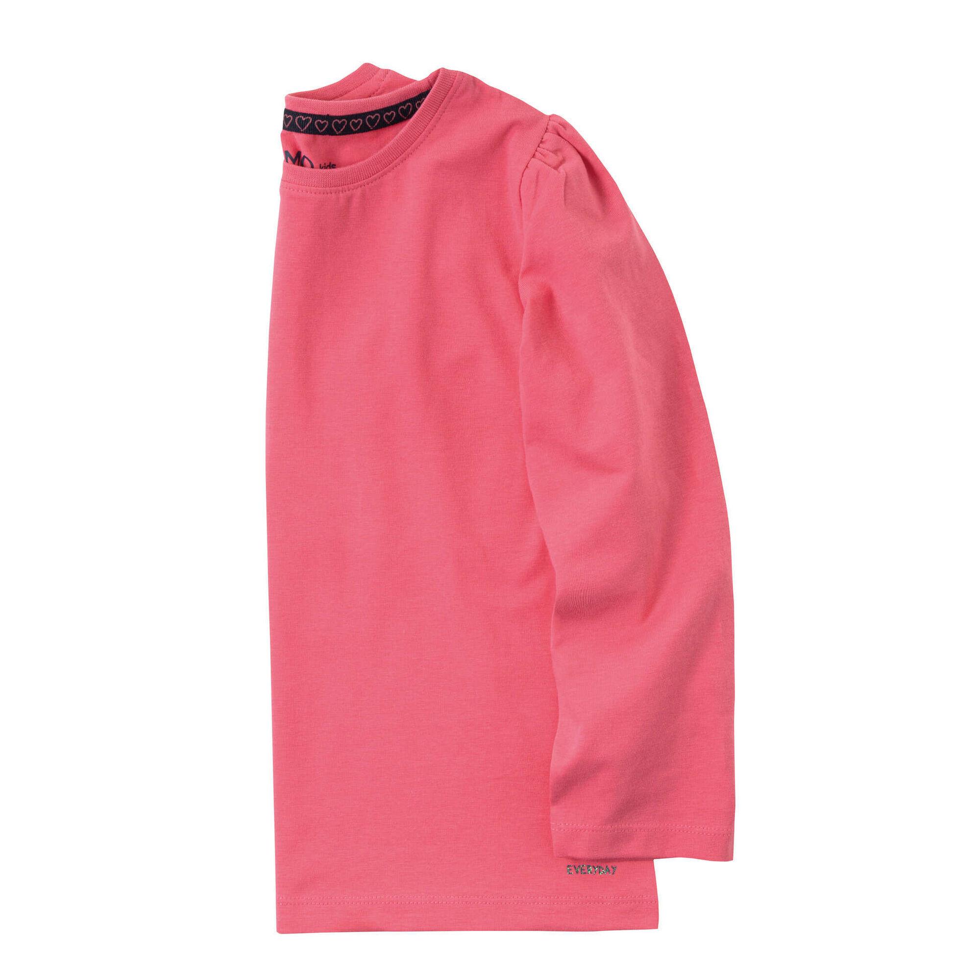 T-shirt Manga Comprida Rosa