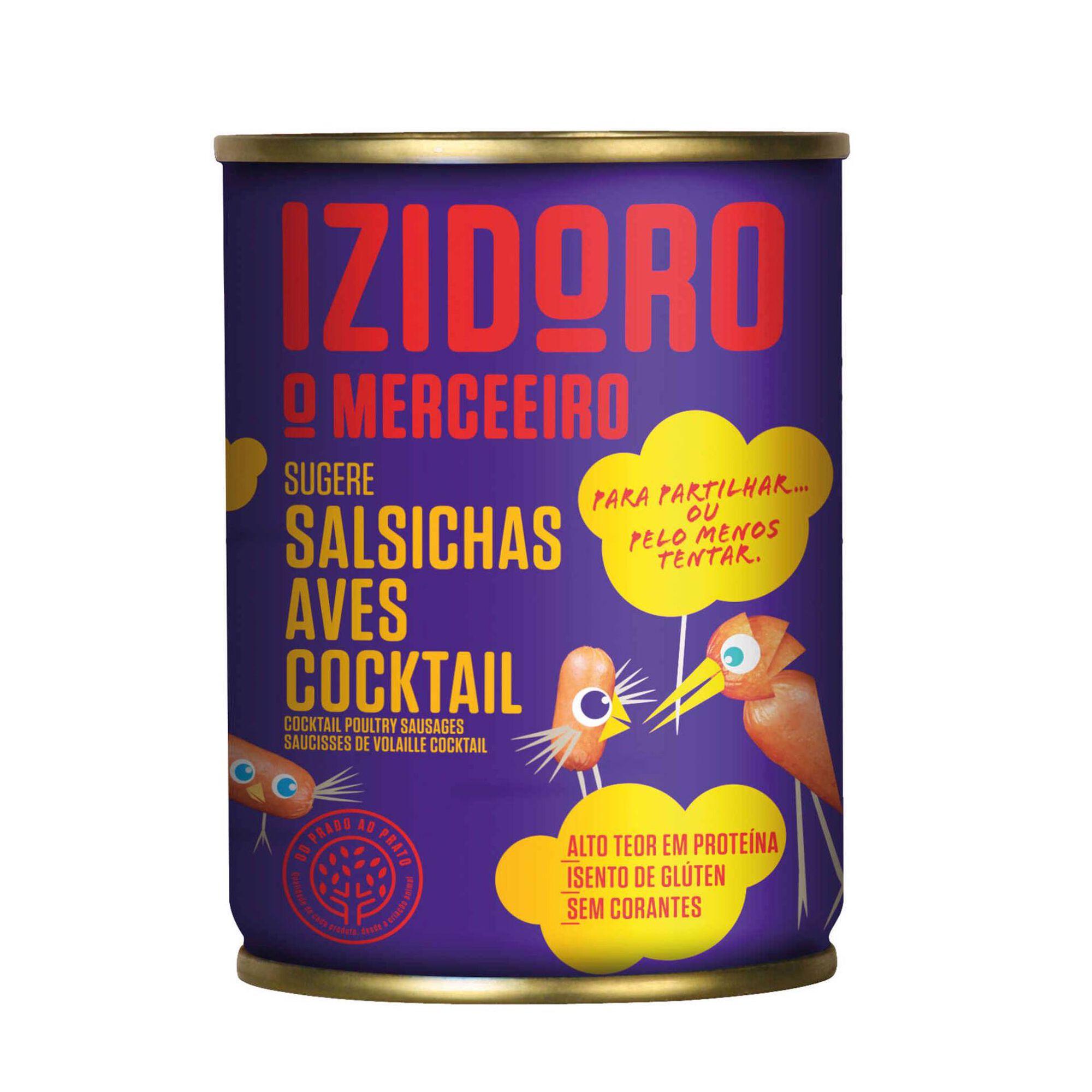 Salsichas de Aves Cocktail Lata