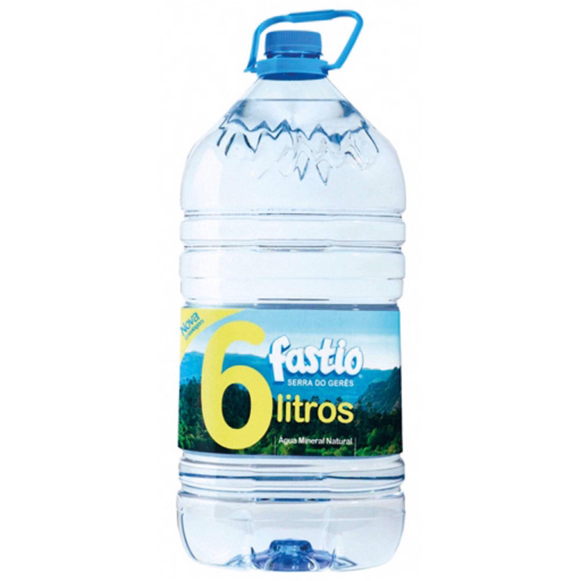 Água sem Gás Mineral Natural Garrafão