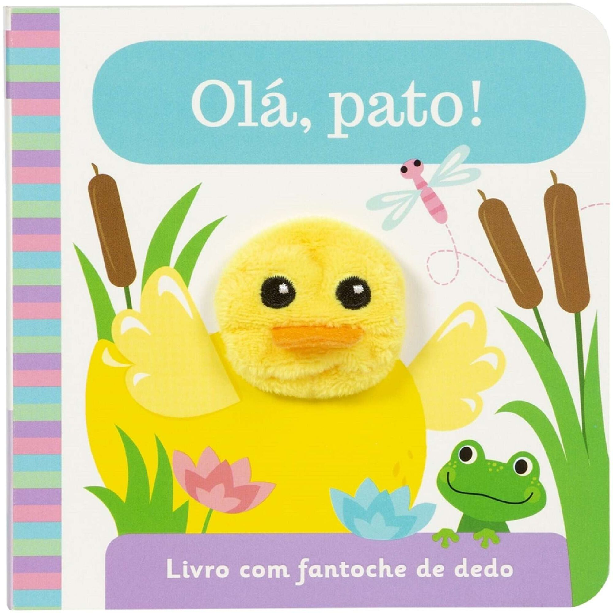 Fantoche de Dedo - Olá, Pato!