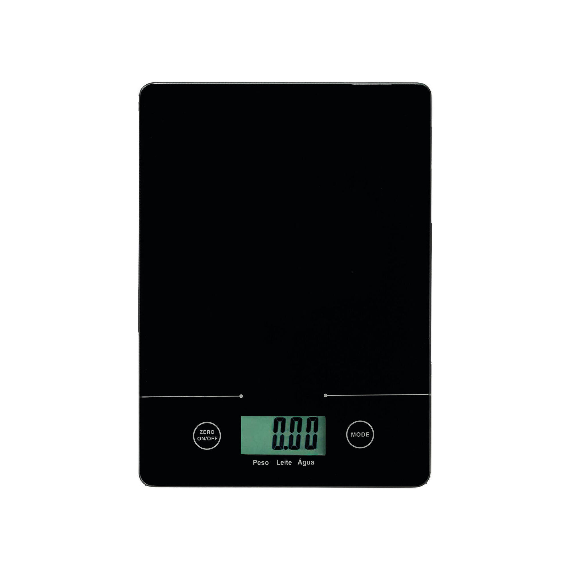 Balança Cozinha Digital Vidro Temperado 5kg (várias cores)