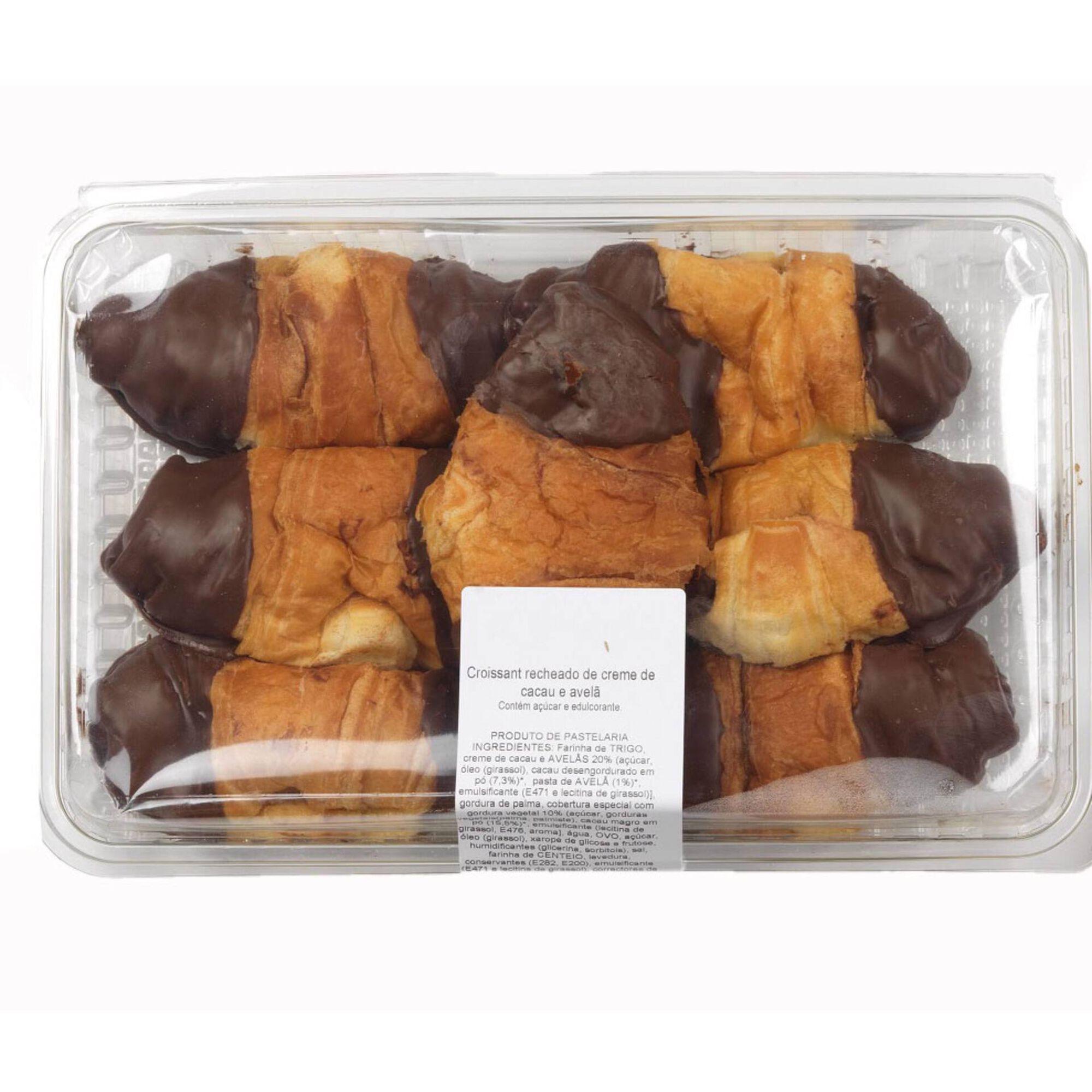 Croissant Recheados de Chocolate