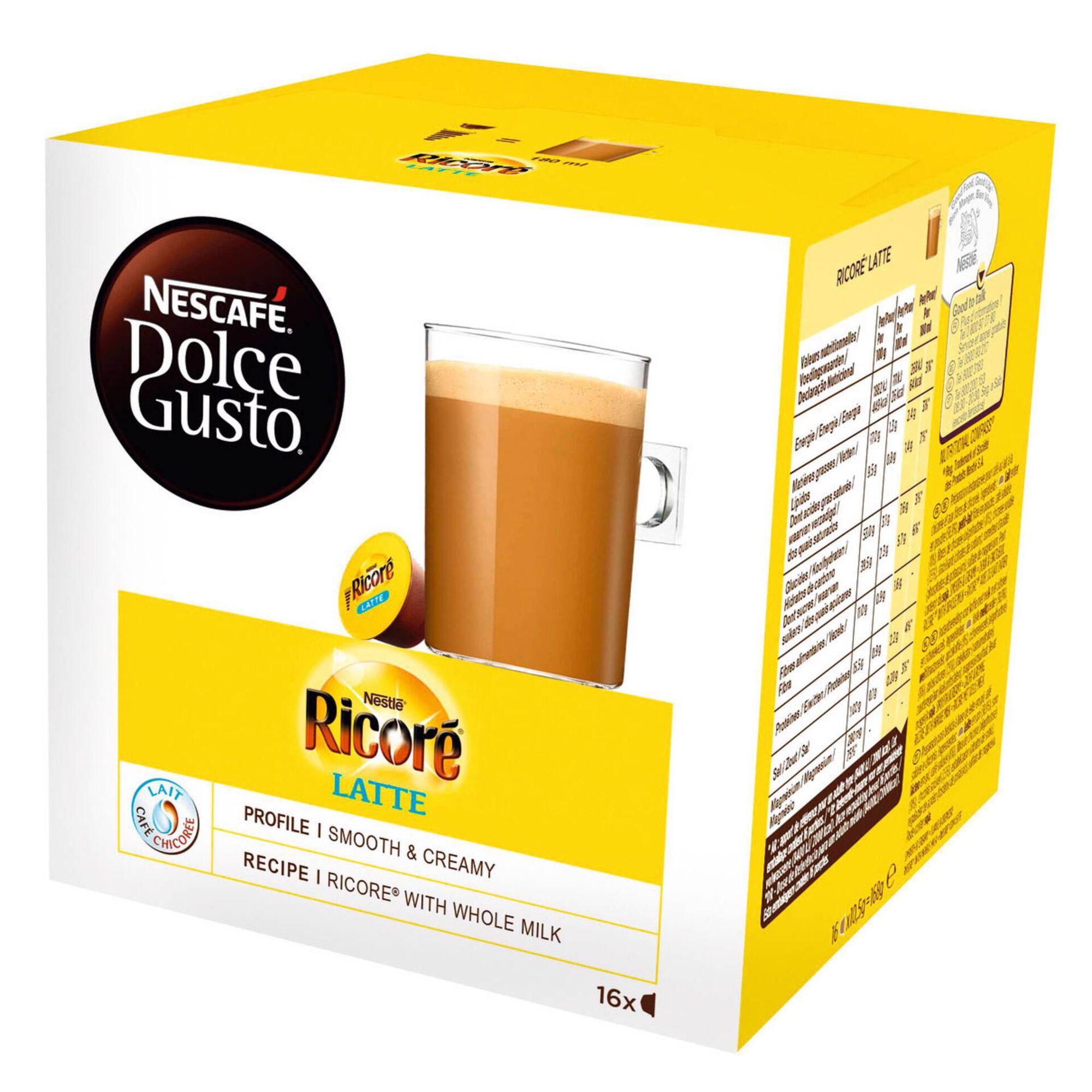 Cápsulas de Café Ricoré Latte