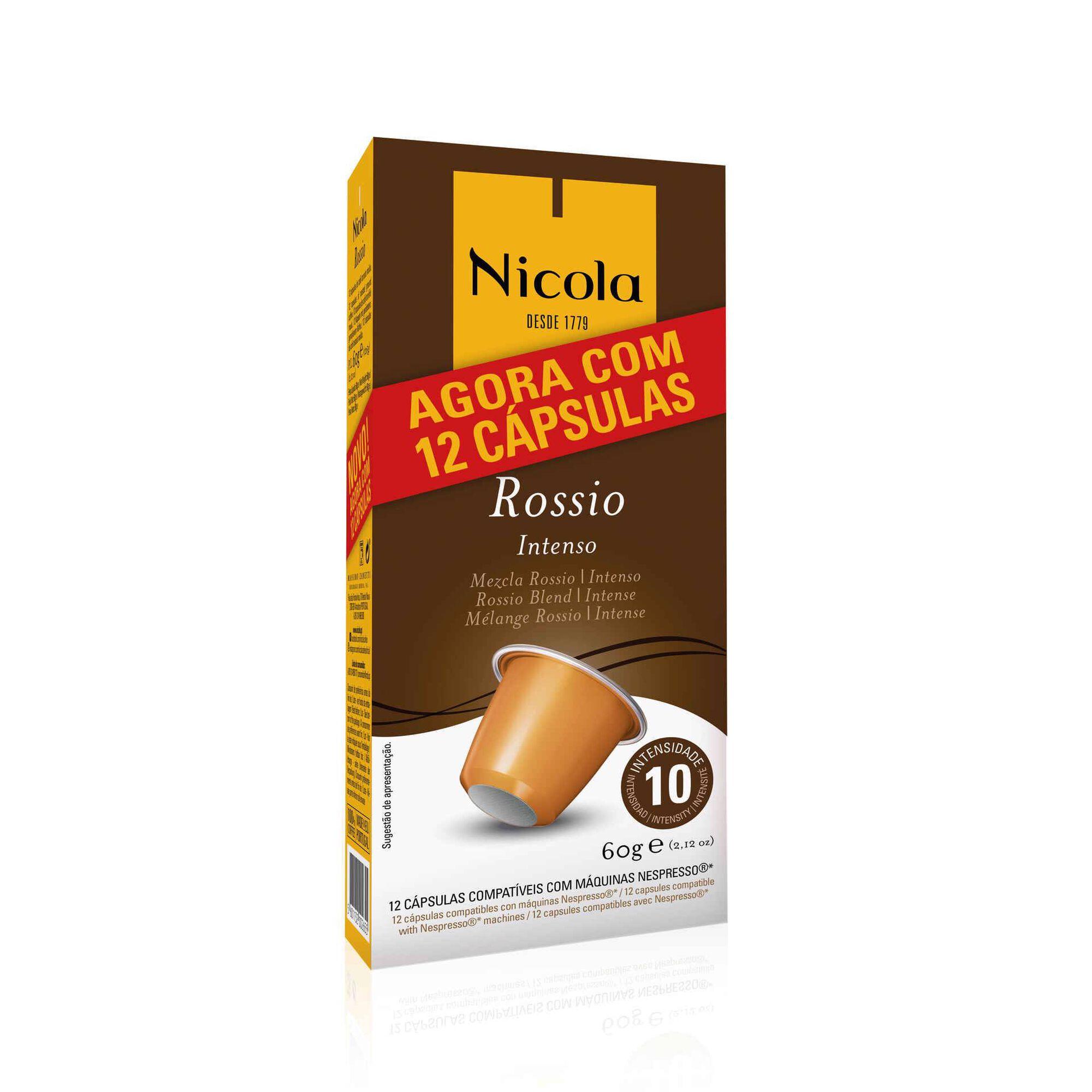 Cápsulas de Café Rossio Compatível com Nespresso Int 10