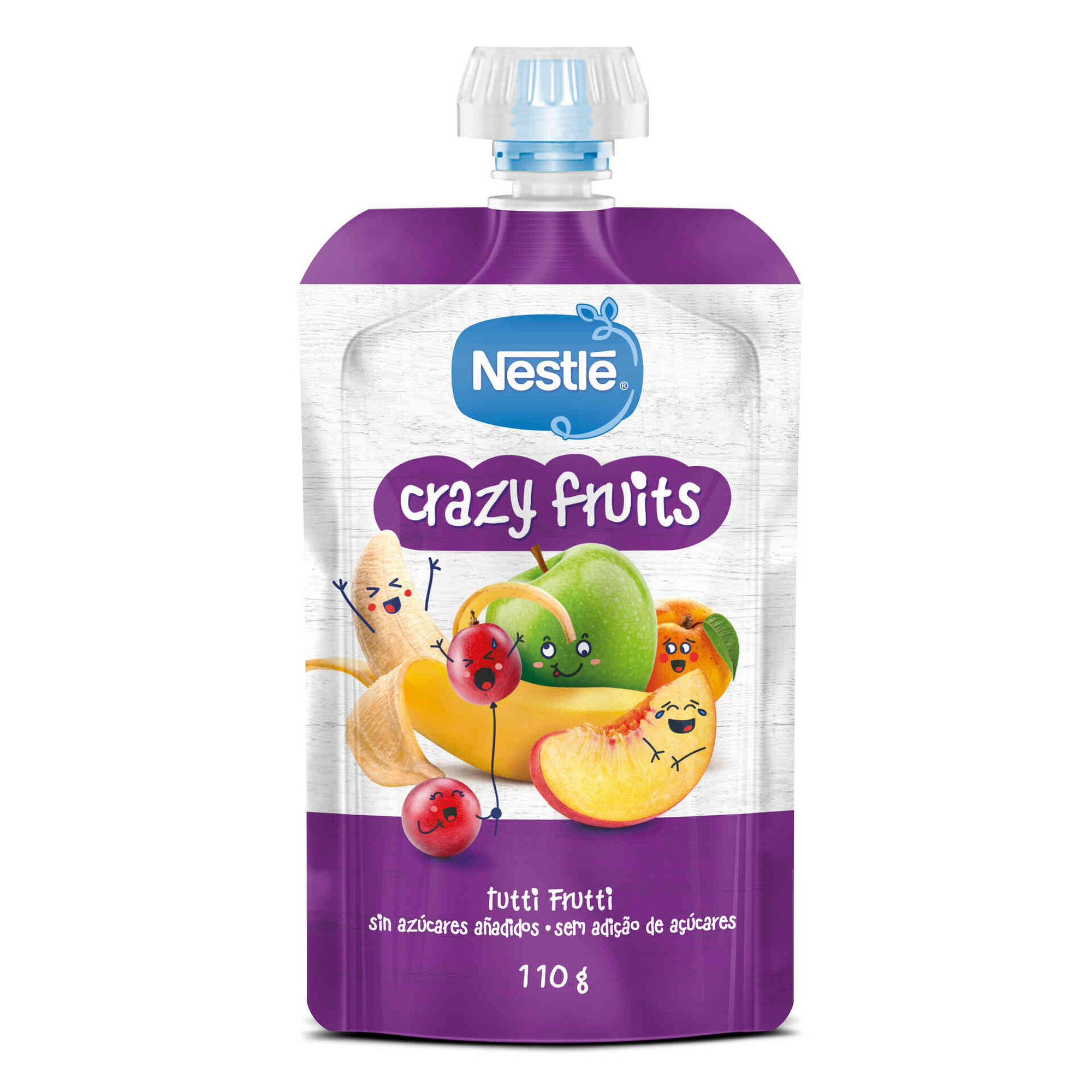 Saqueta de Fruta Tutti Frutti +12 Meses