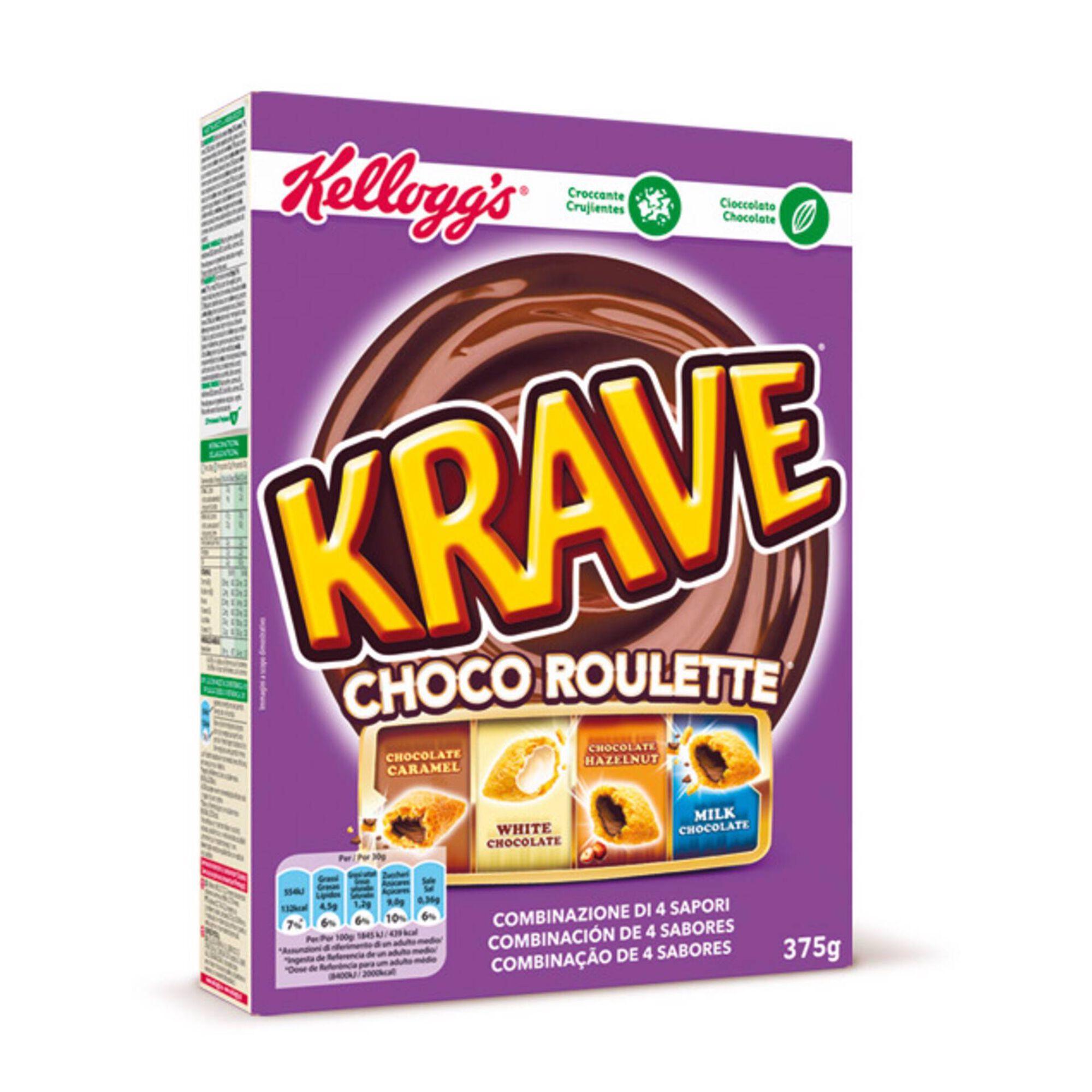 Cereais Krave Trésor Roulette