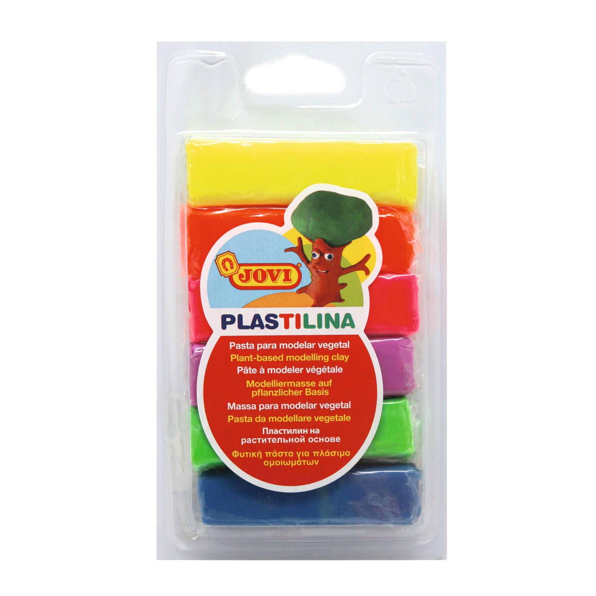 Plasticina com 6 Barras