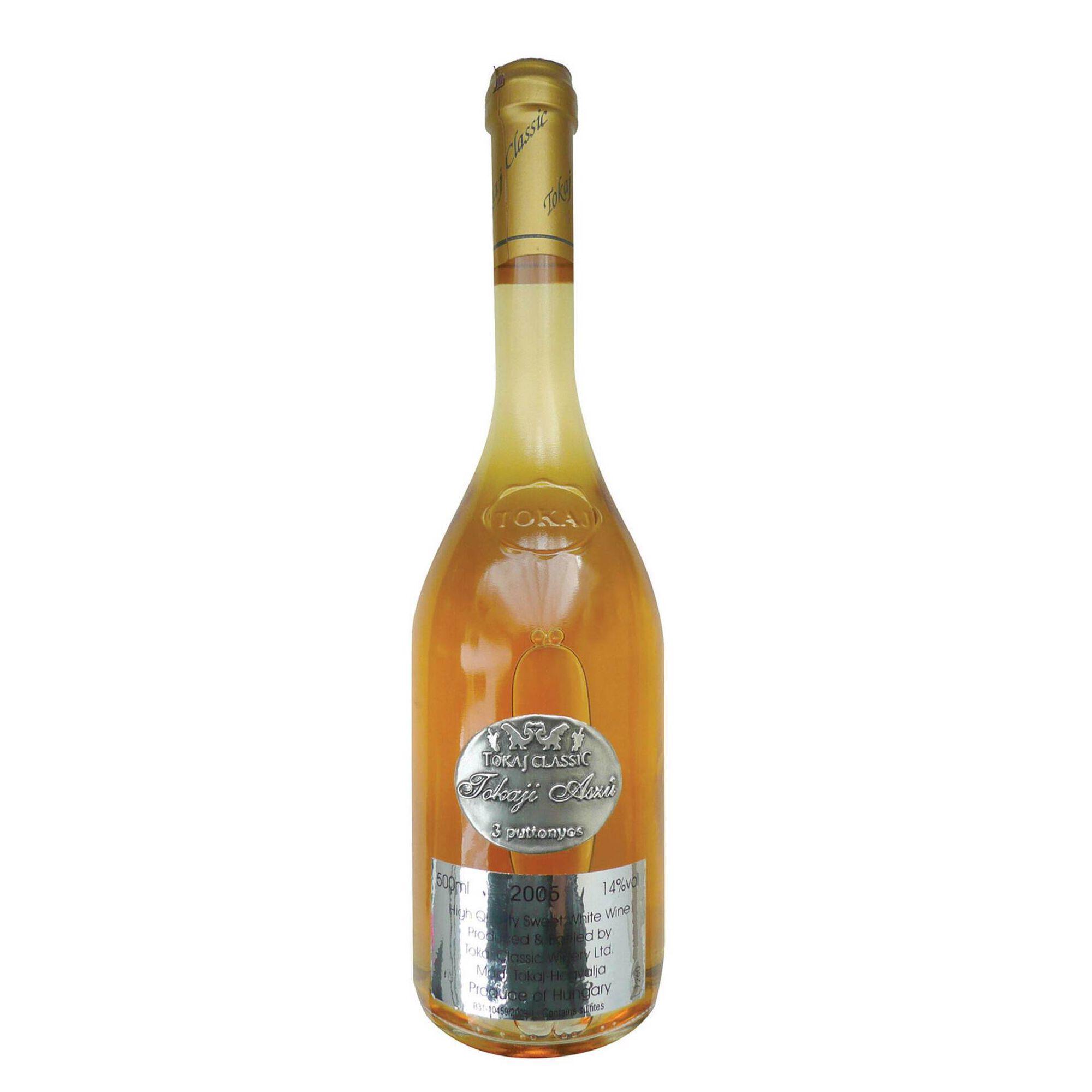 Tokaji Aszú 3 Puttonyos Colheita Tardia Vinho Branco