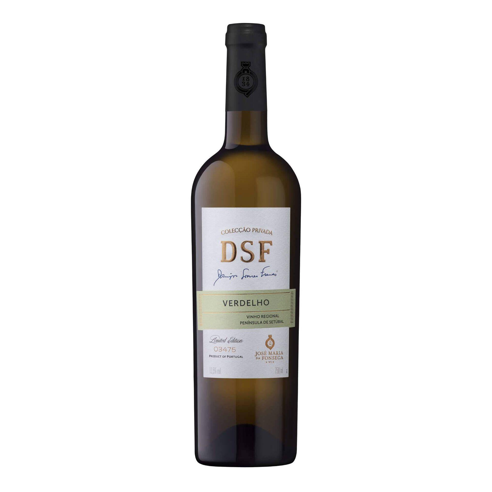 Domingos Soares Franco Verdelho Regional Península de Setúbal Vinho Branco