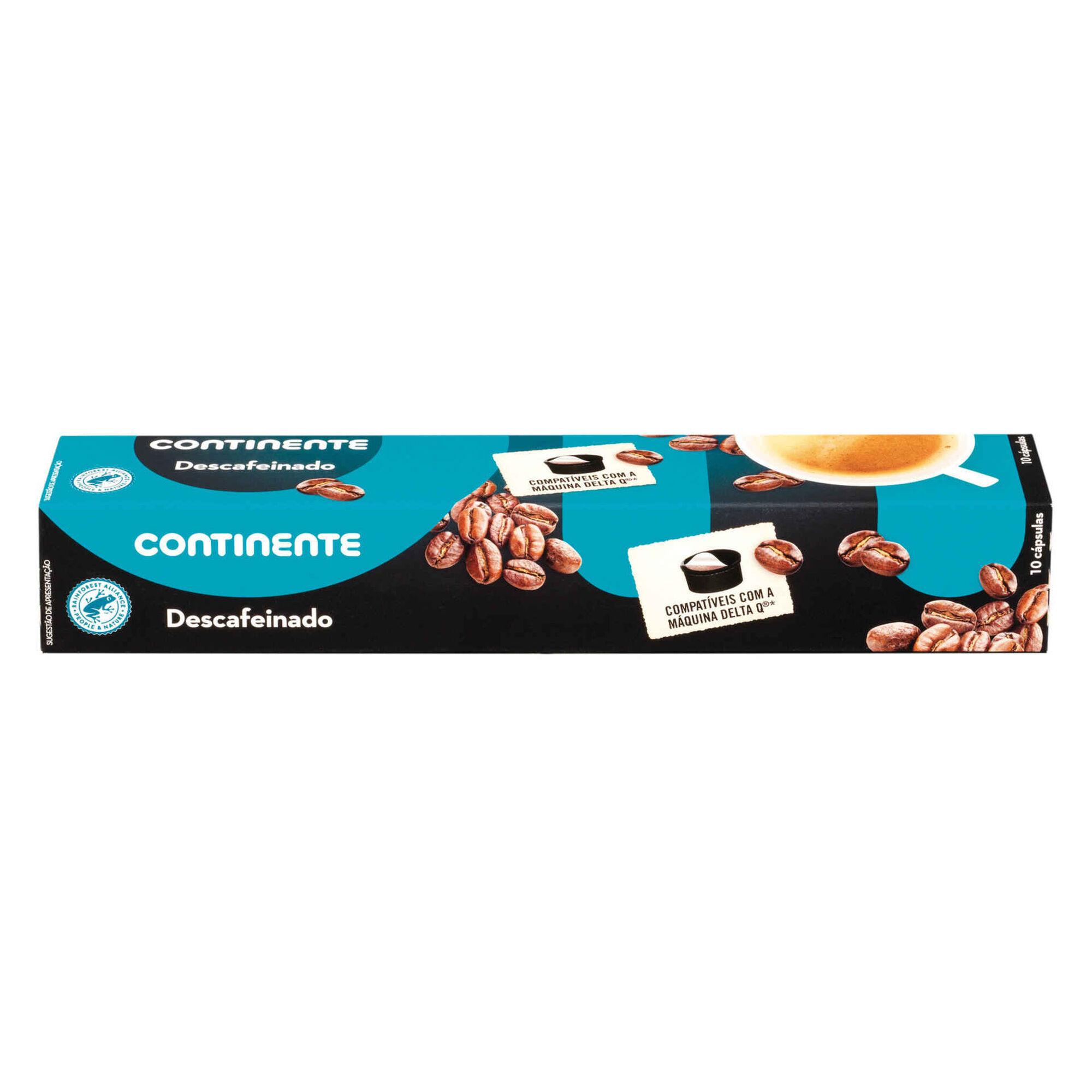 Cápsulas de Café Descafeinado Int 1 Compatível com Delta Q