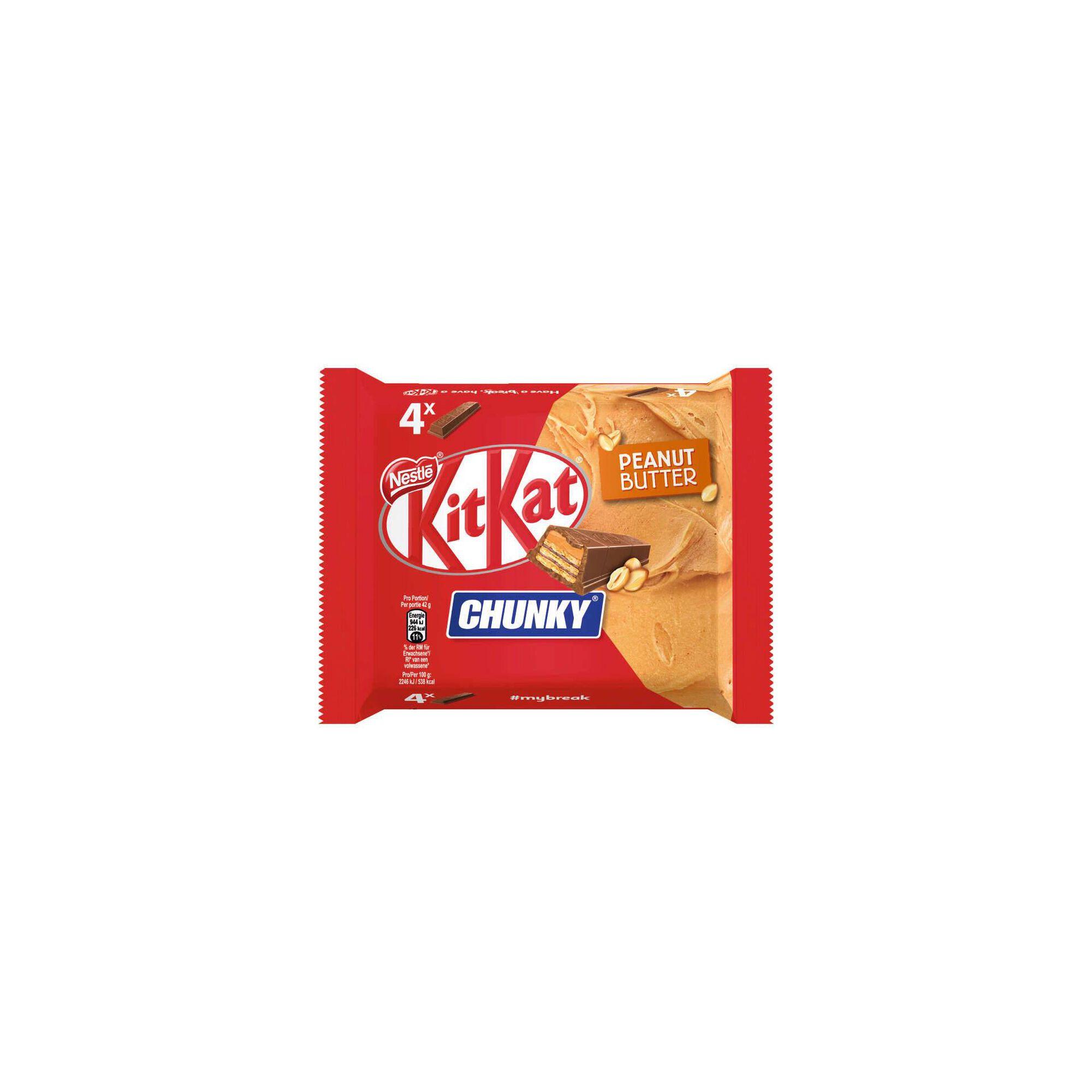 Snack de Chocolate Chunky Peanut Butter Kit Kat