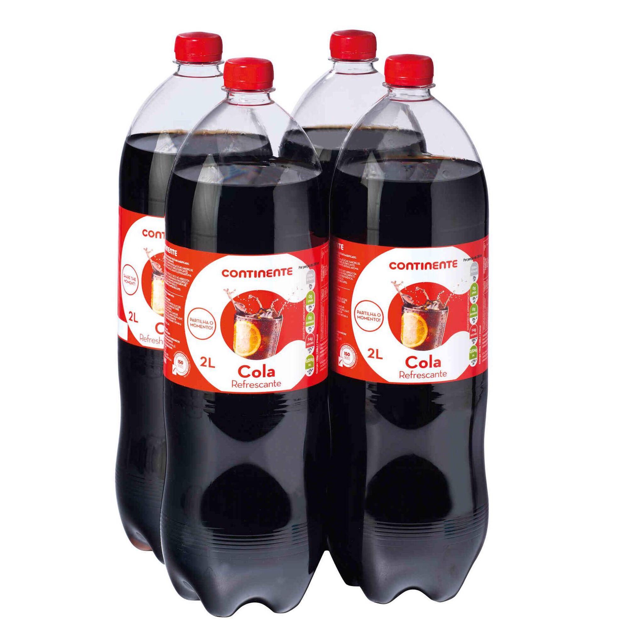 Refrigerante com Gás Cola