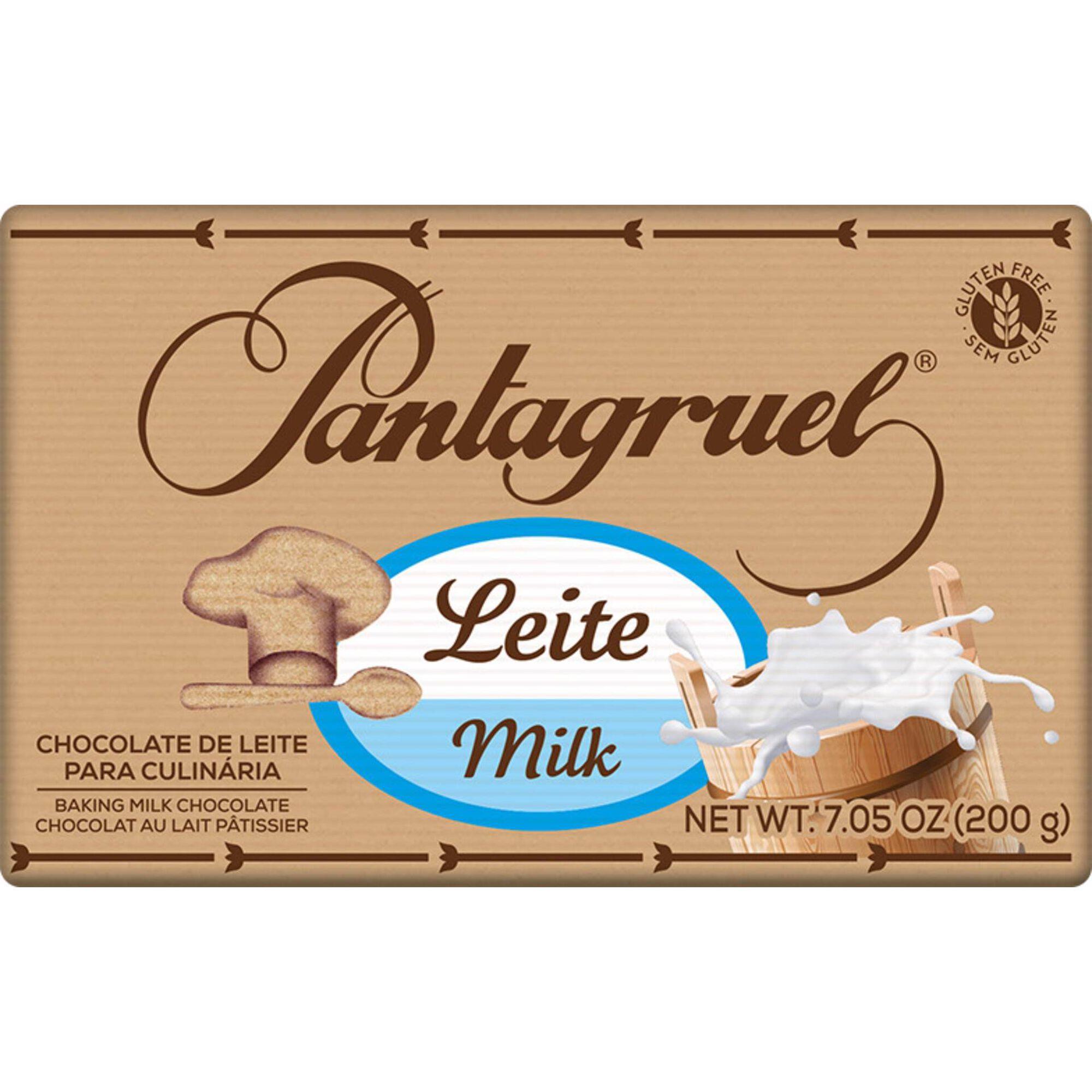 Tablete de Chocolate de Leite Culinária sem Glúten