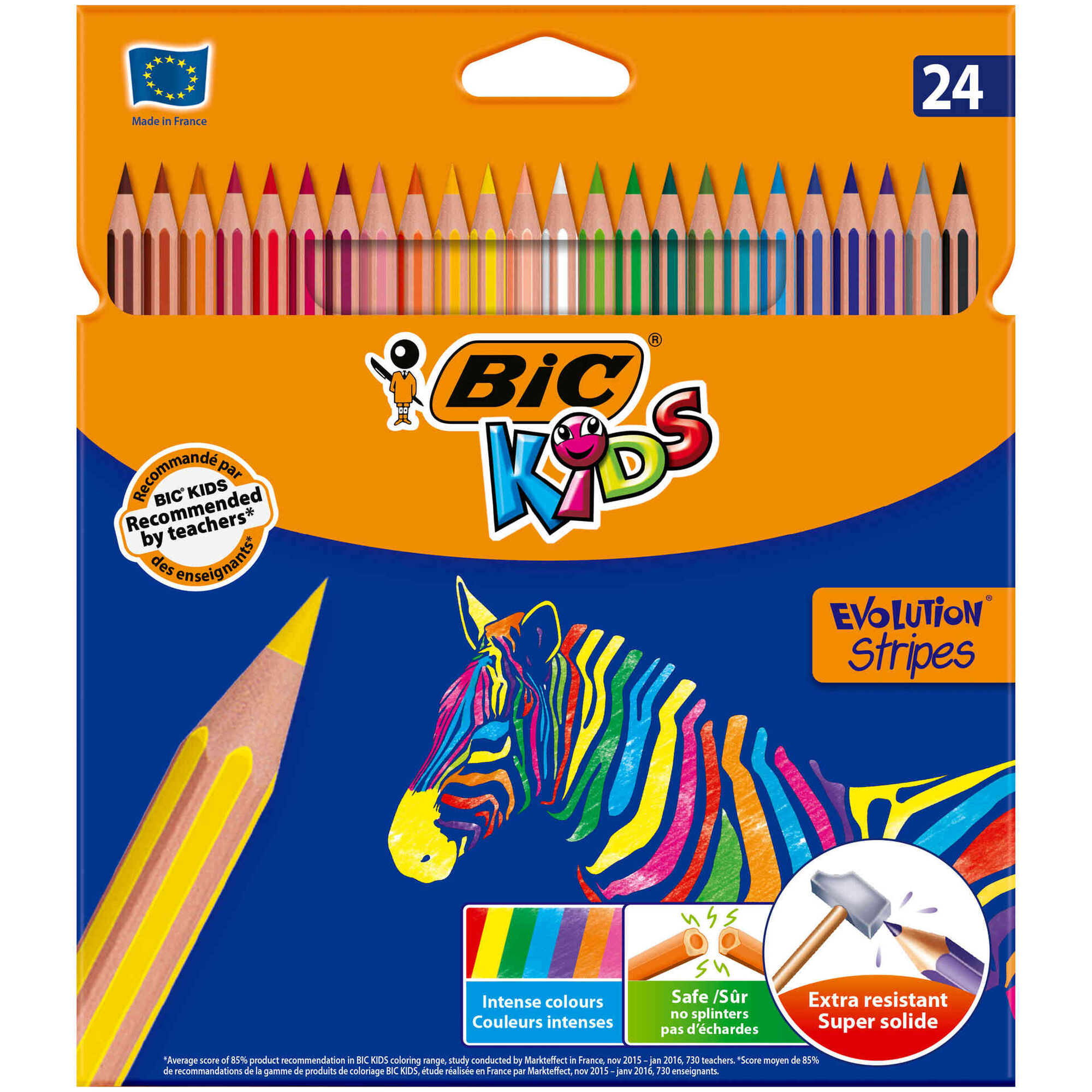 Lápis de Cor Kids Tropicolor