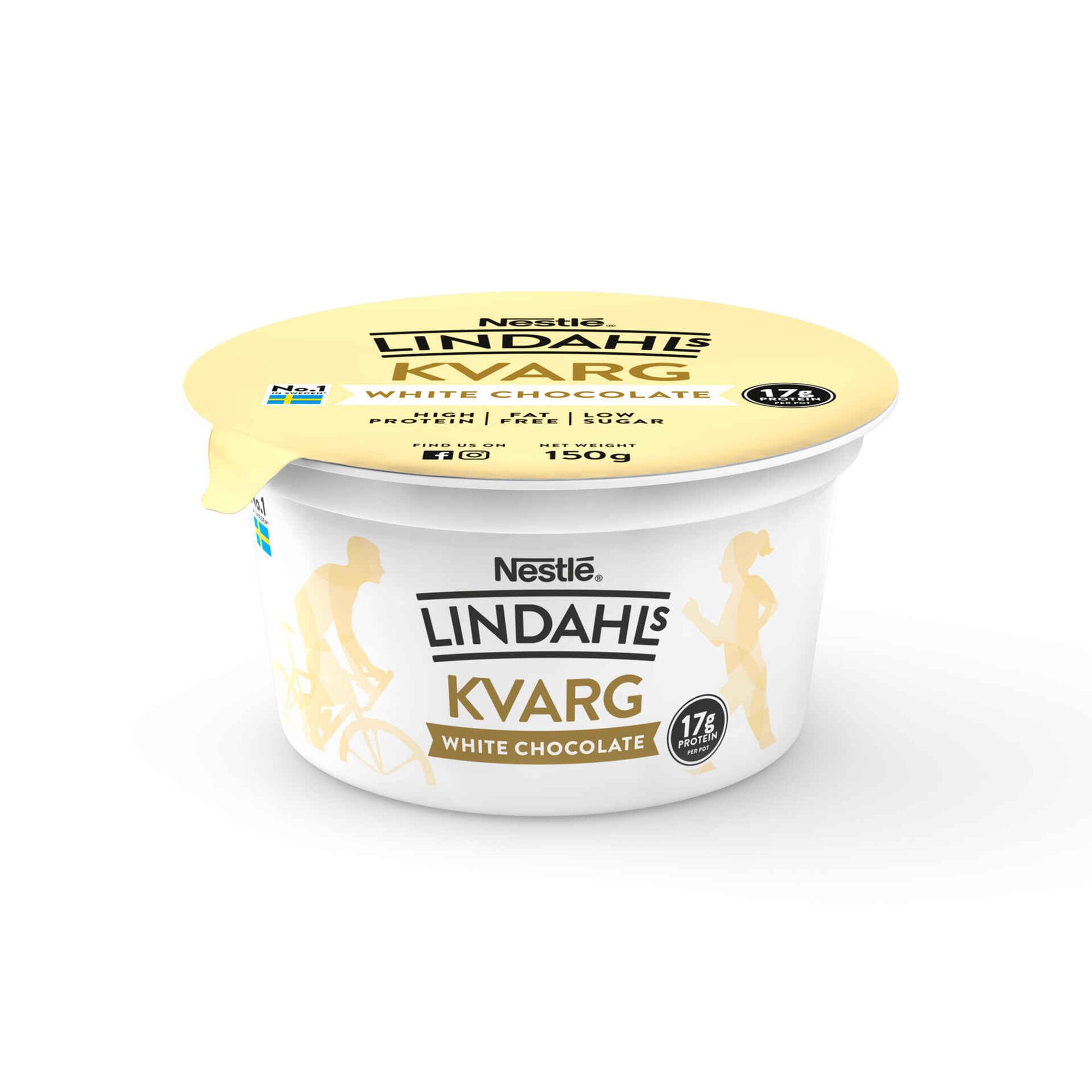 Iogurte Sólido Proteína Chocolate Branco Kvarg