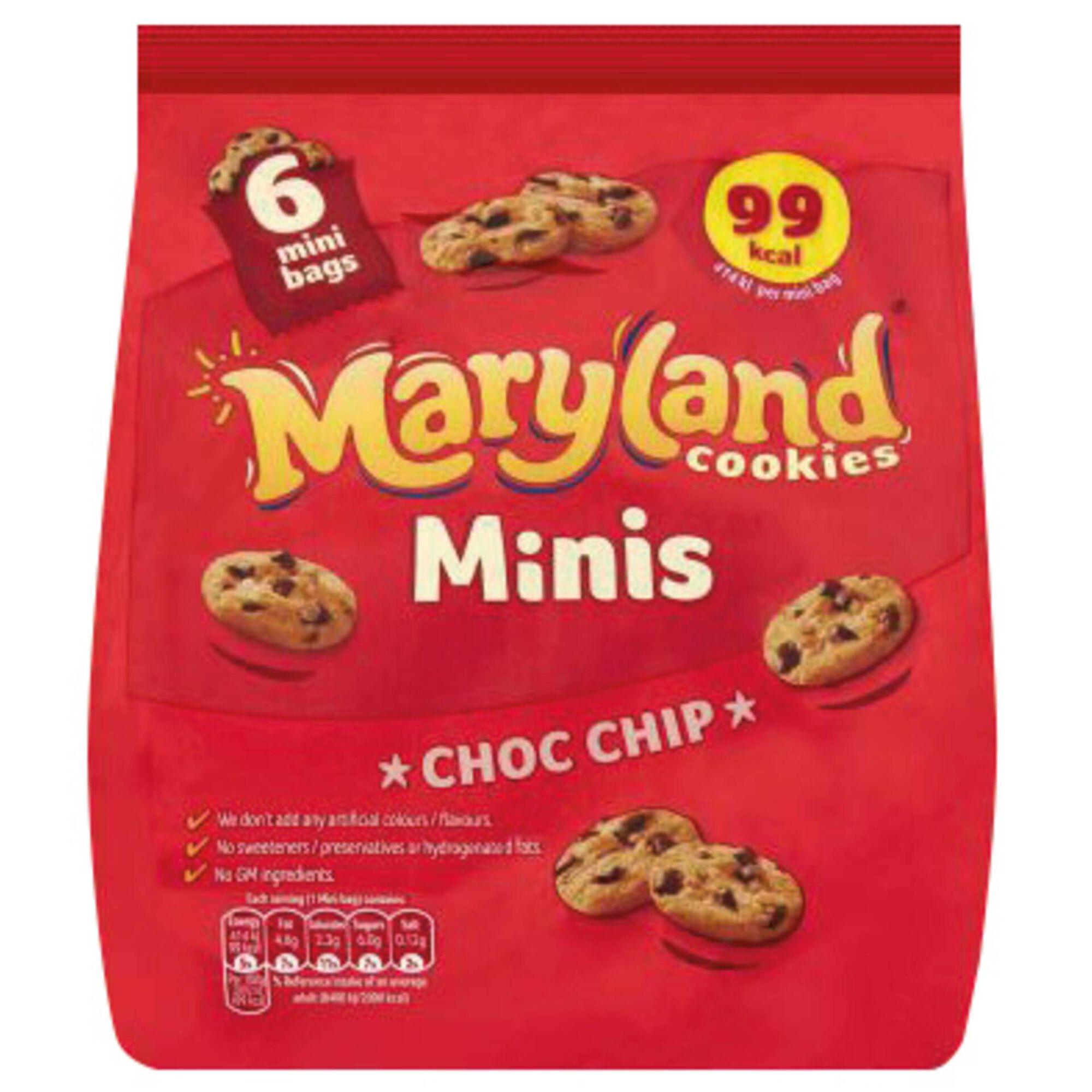 Bolachas Mini Cookies Pepitas de Chocolate