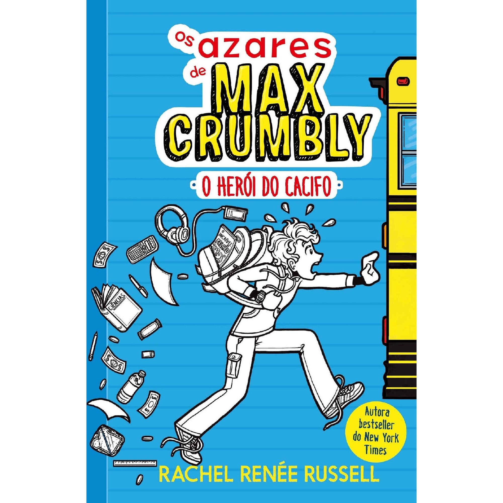 Os Azares de Max Crumbly Nº 1 - O Herói do Cacifo