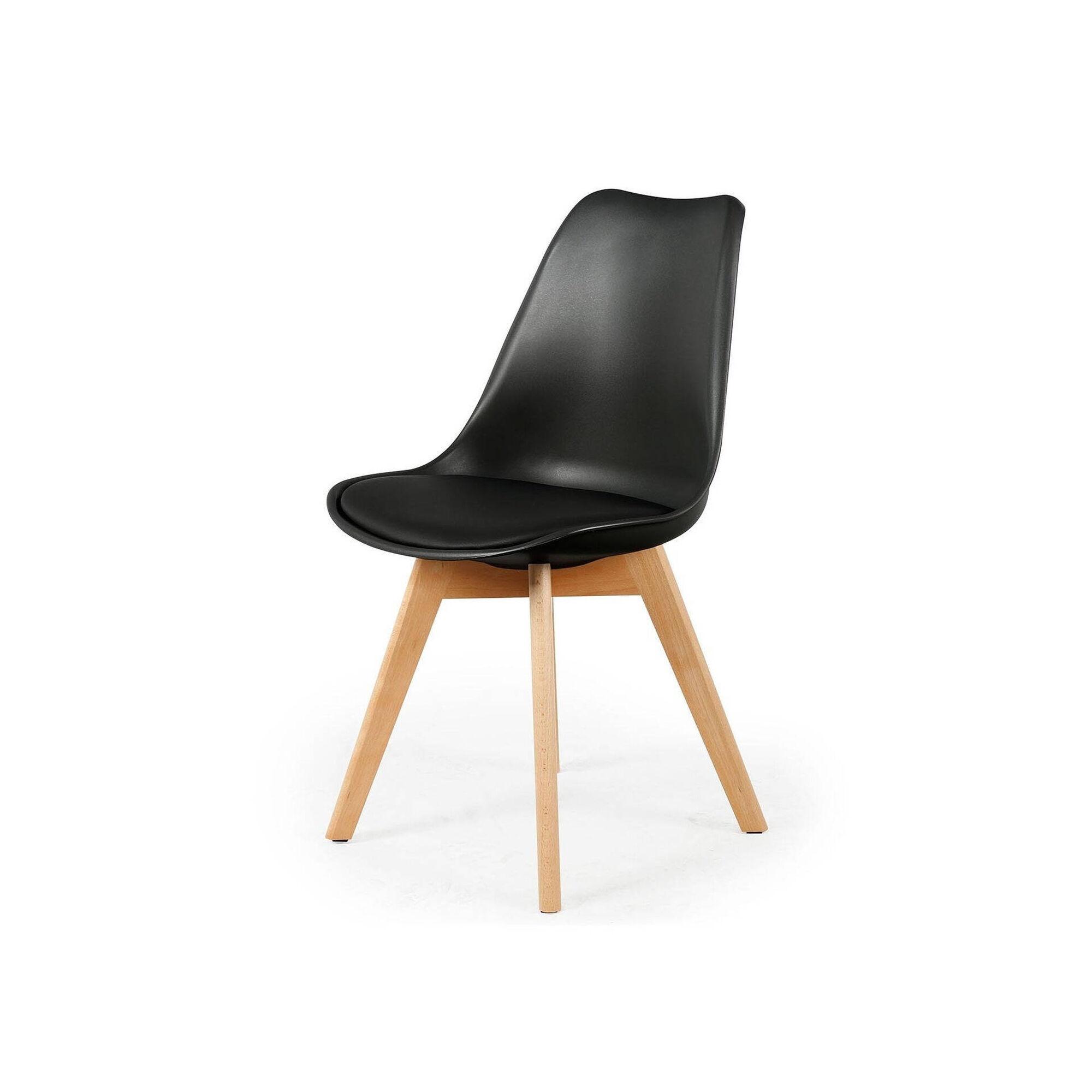 Cadeira Preta Echair Confort