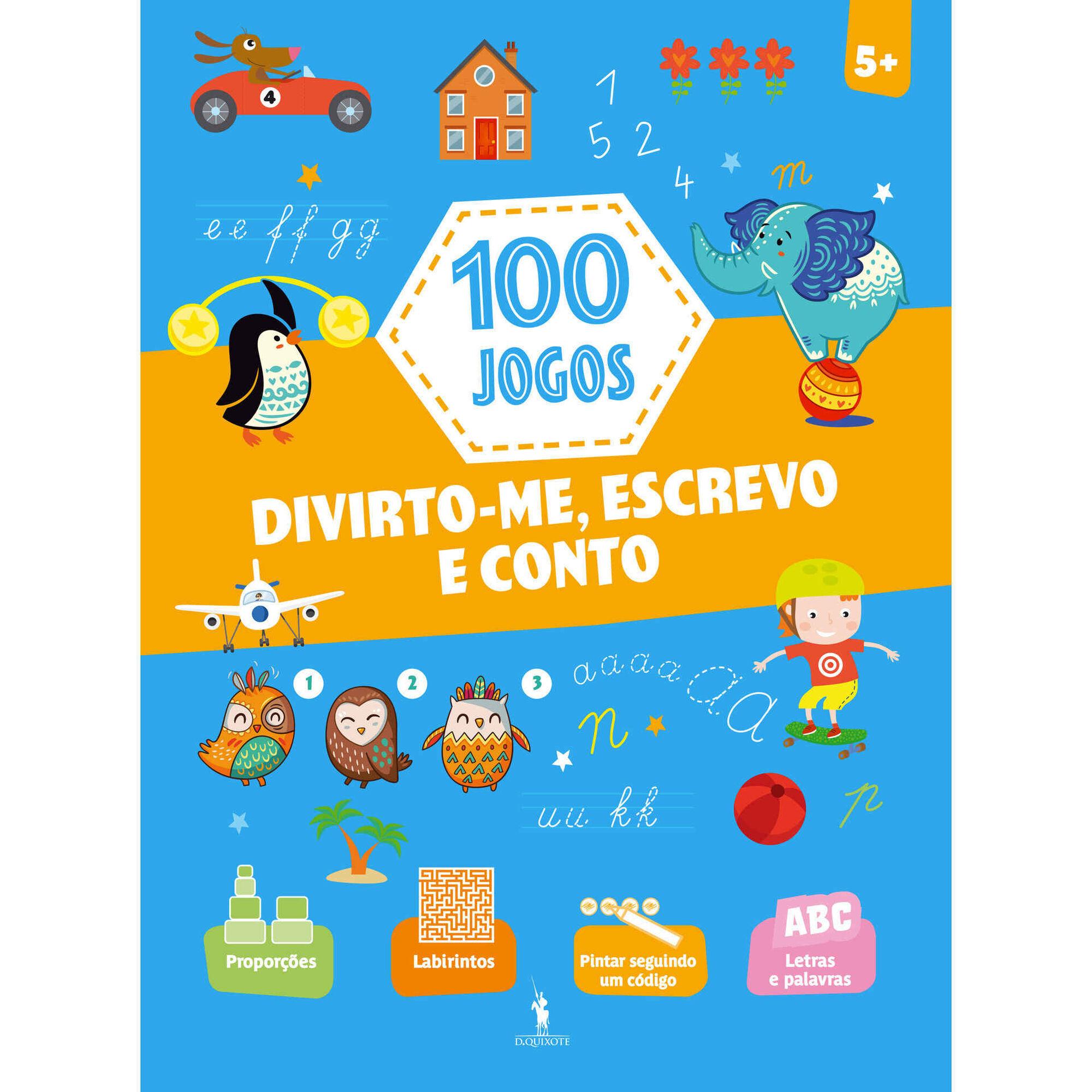 100 Jogos - Divirto-me, Escrevo e Conto