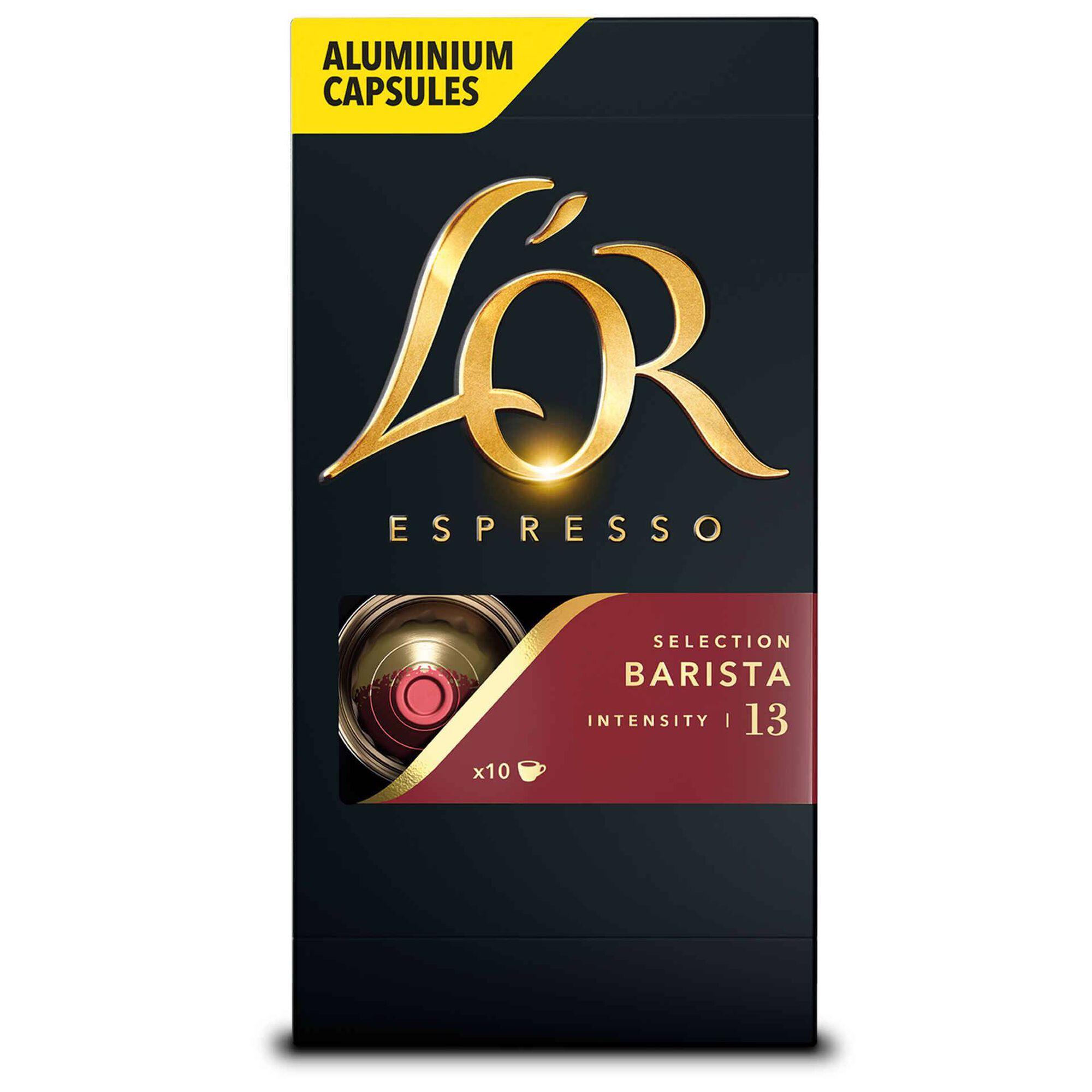 Cápsulas de Café Espresso Barista Compatível com Nespresso Int 13