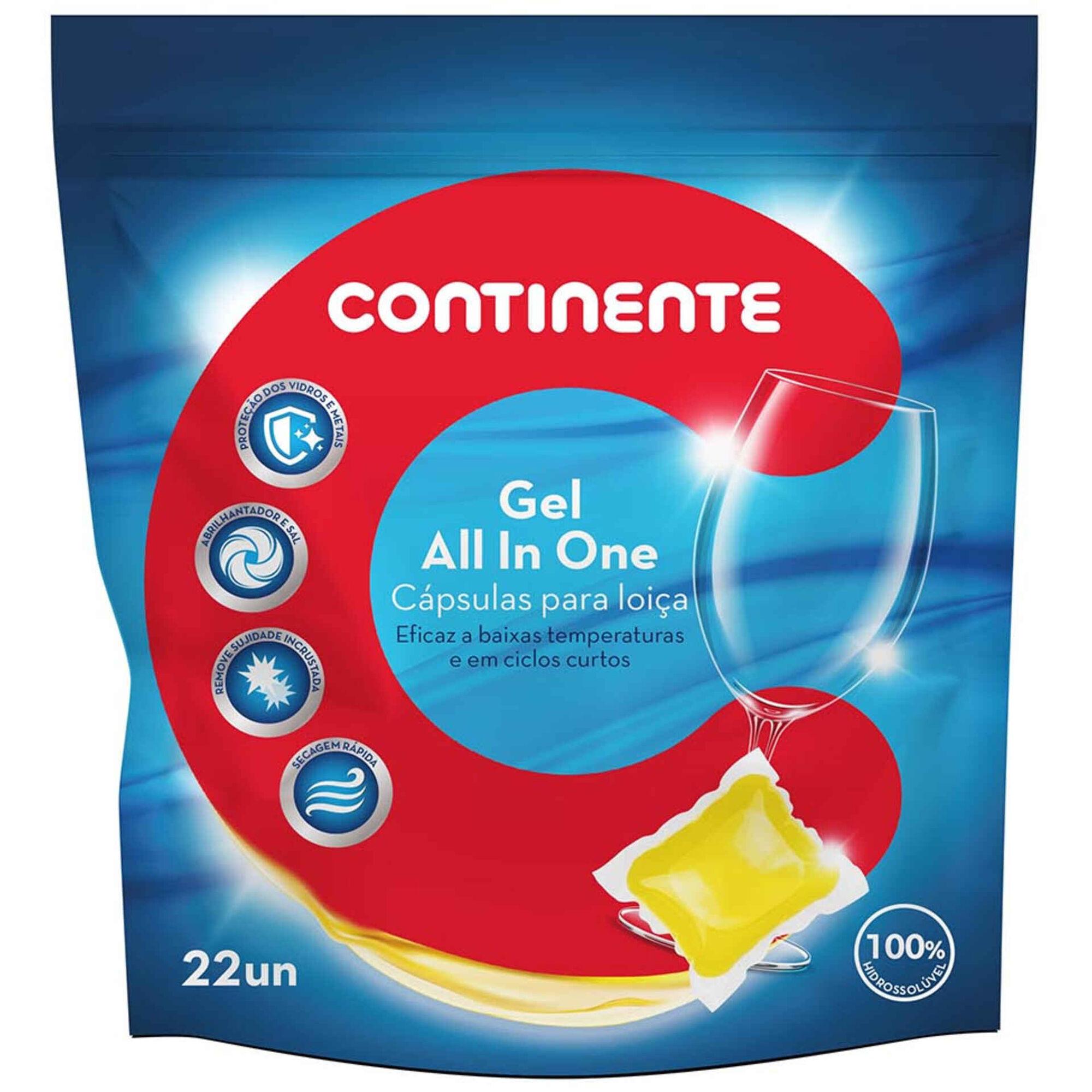 Detergente Máquina Loiça Pastilhas All in One