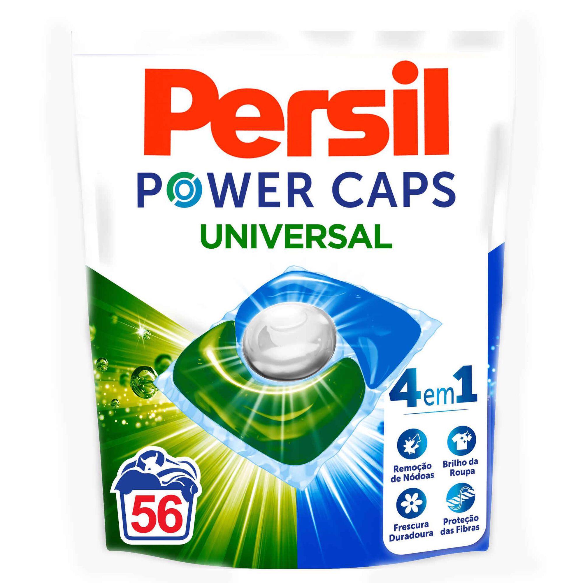 Detergente Máquina Roupa Cápsulas Universal