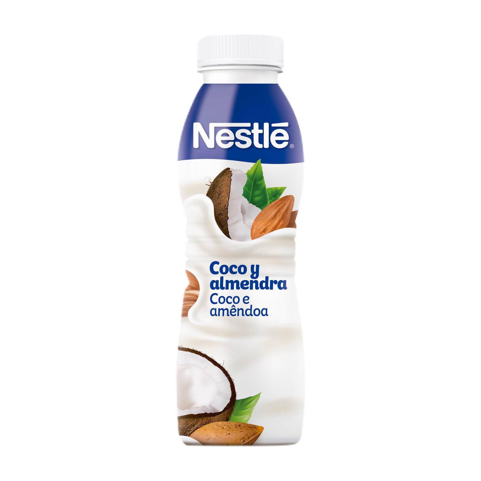 Iogurte Líquido Coco e Amêndoa