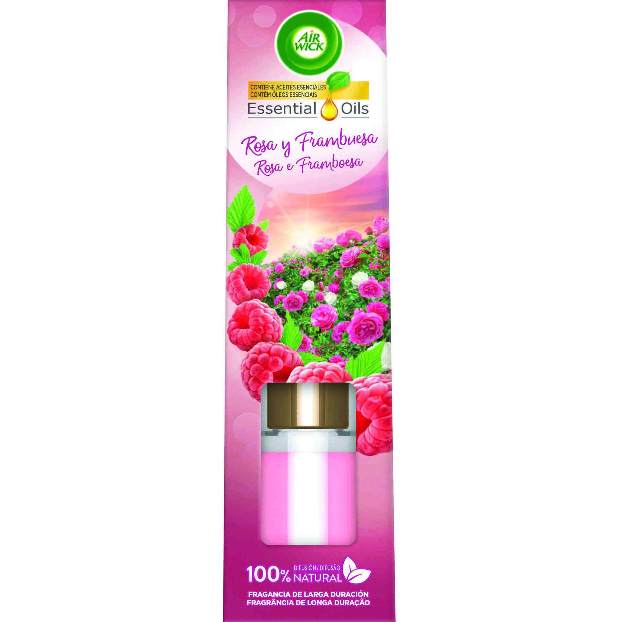 Ambientador Stick Perfumado Rosa e Framboesa