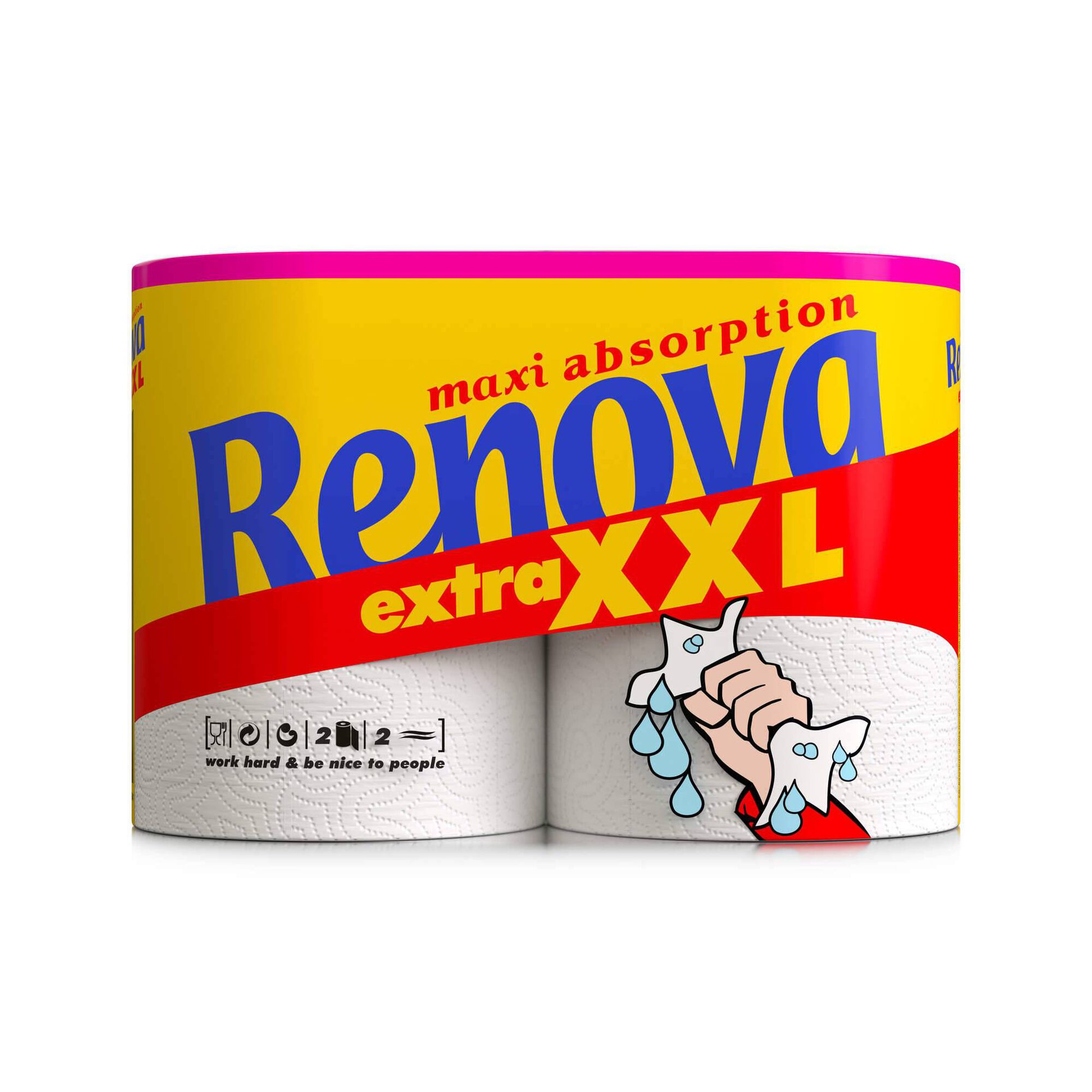 Rolo de Cozinha Maxi Absorption Extra XXL