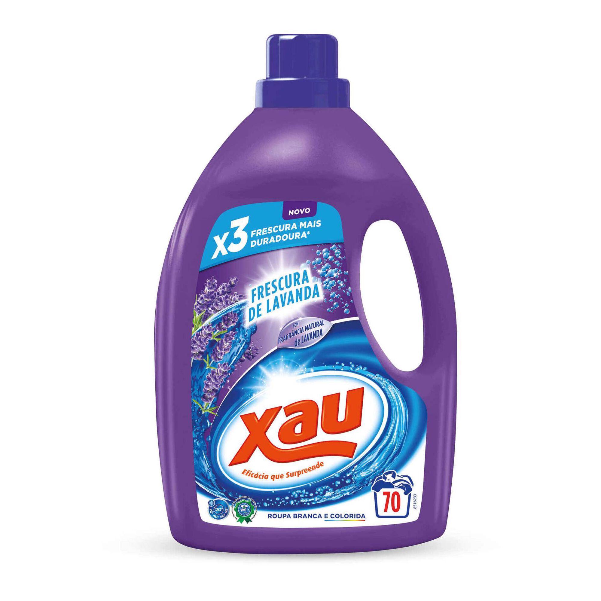 Detergente Máquina Roupa Líquido Lavanda