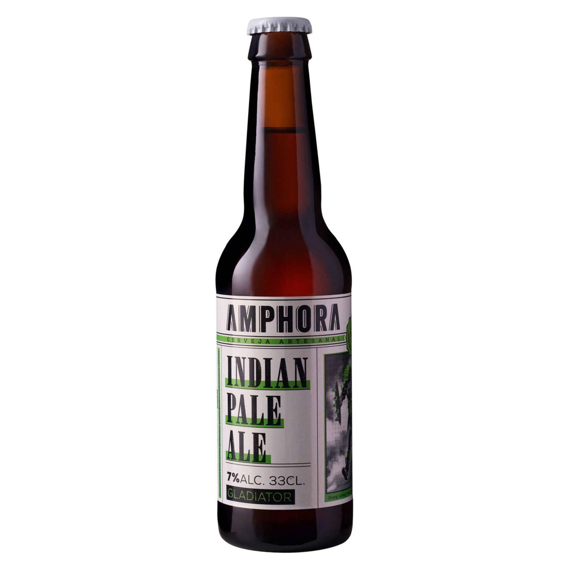 Cerveja com Álcool Gladiador
