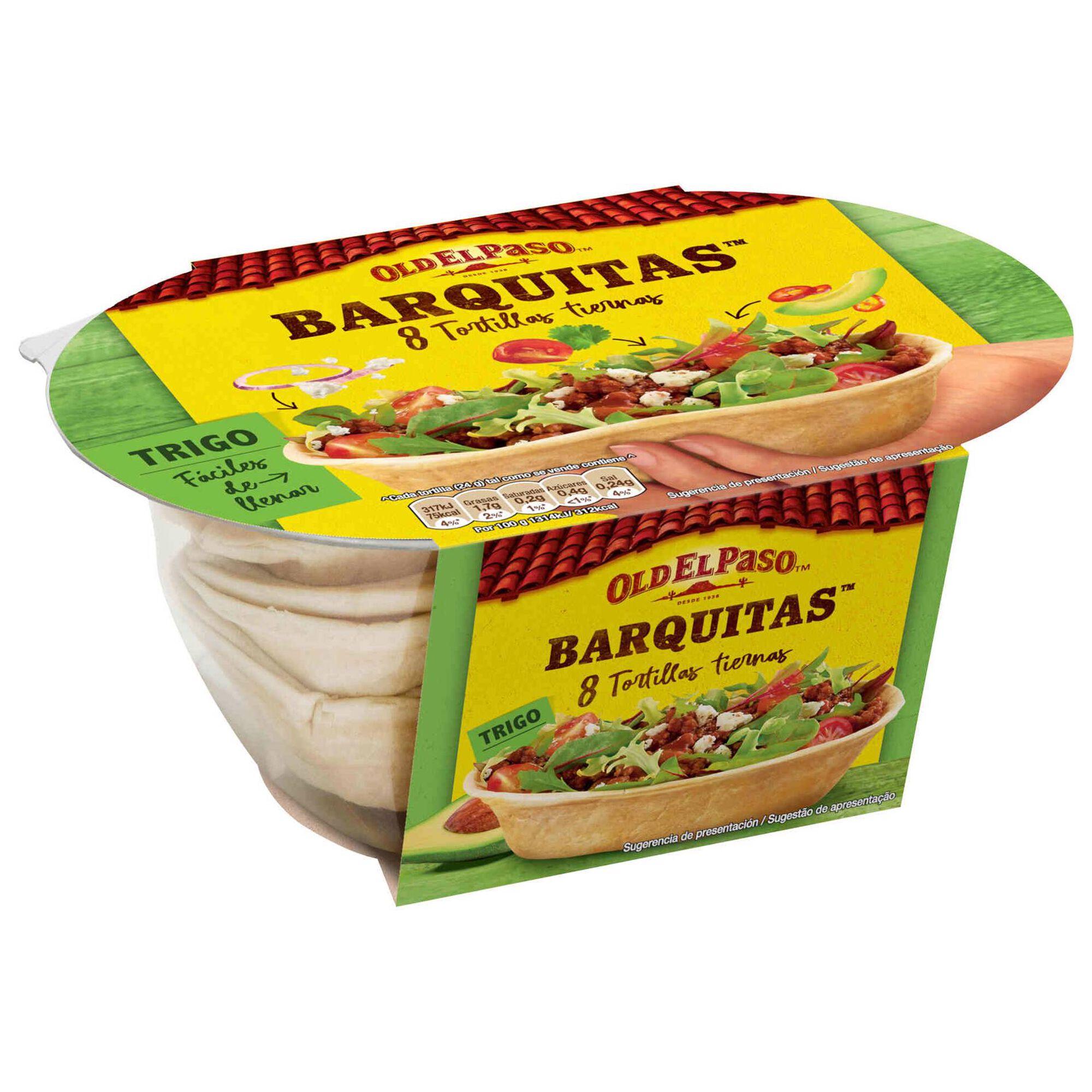 Barquitas Mexicanas de Trigo