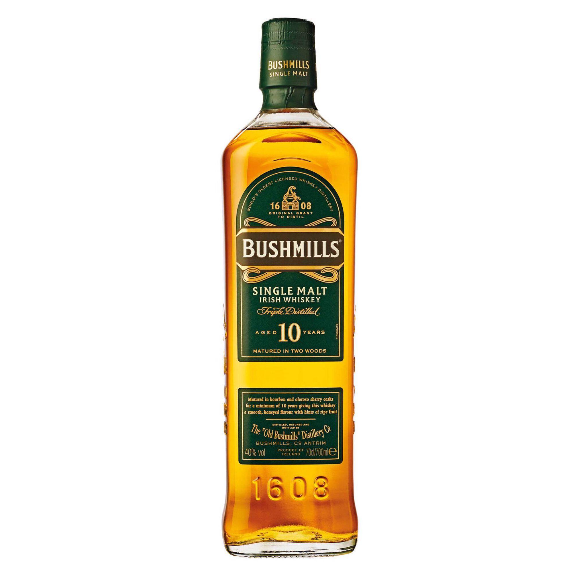 Whisky Bushmills 10 Anos