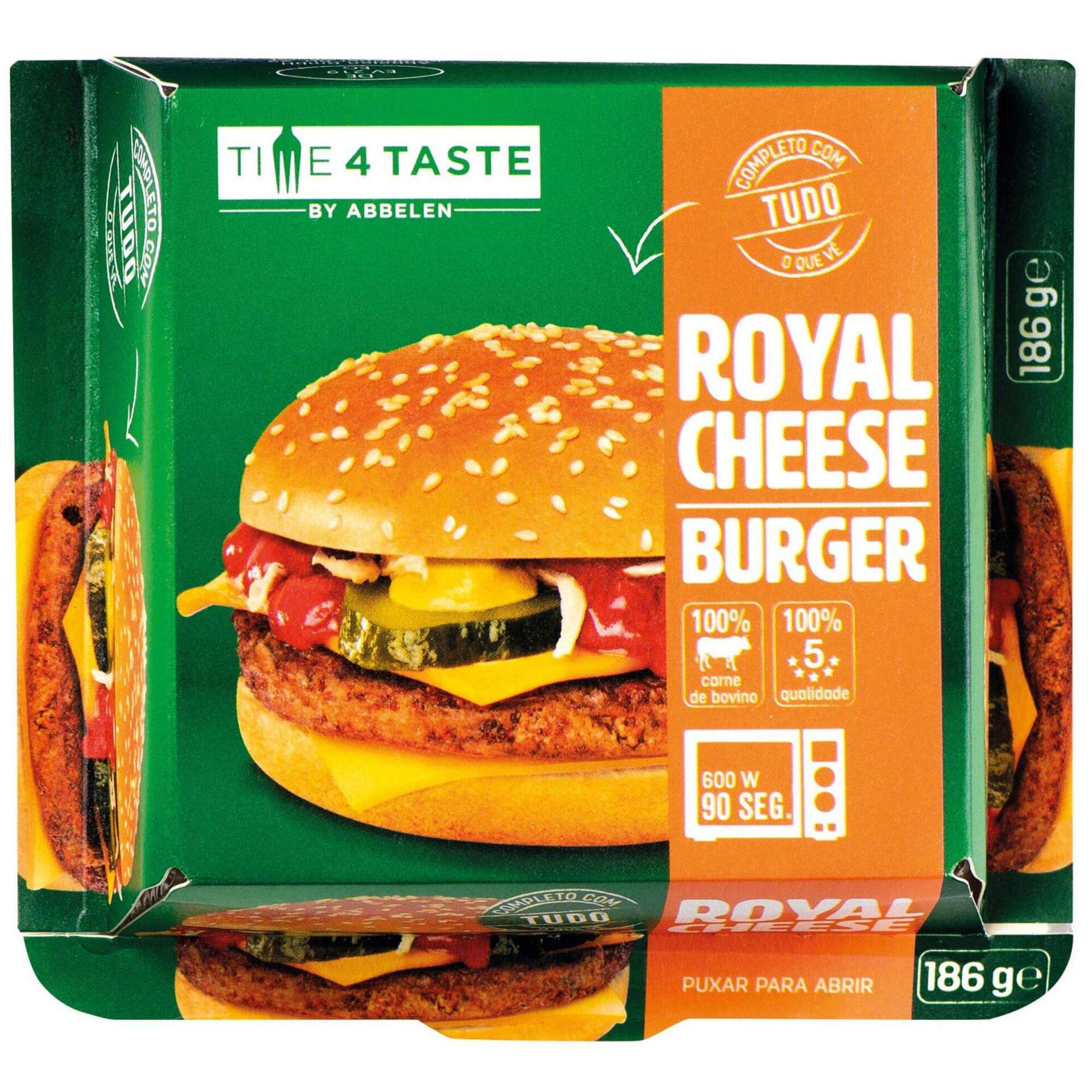 Hambúrguer Bovino Royal Cheese
