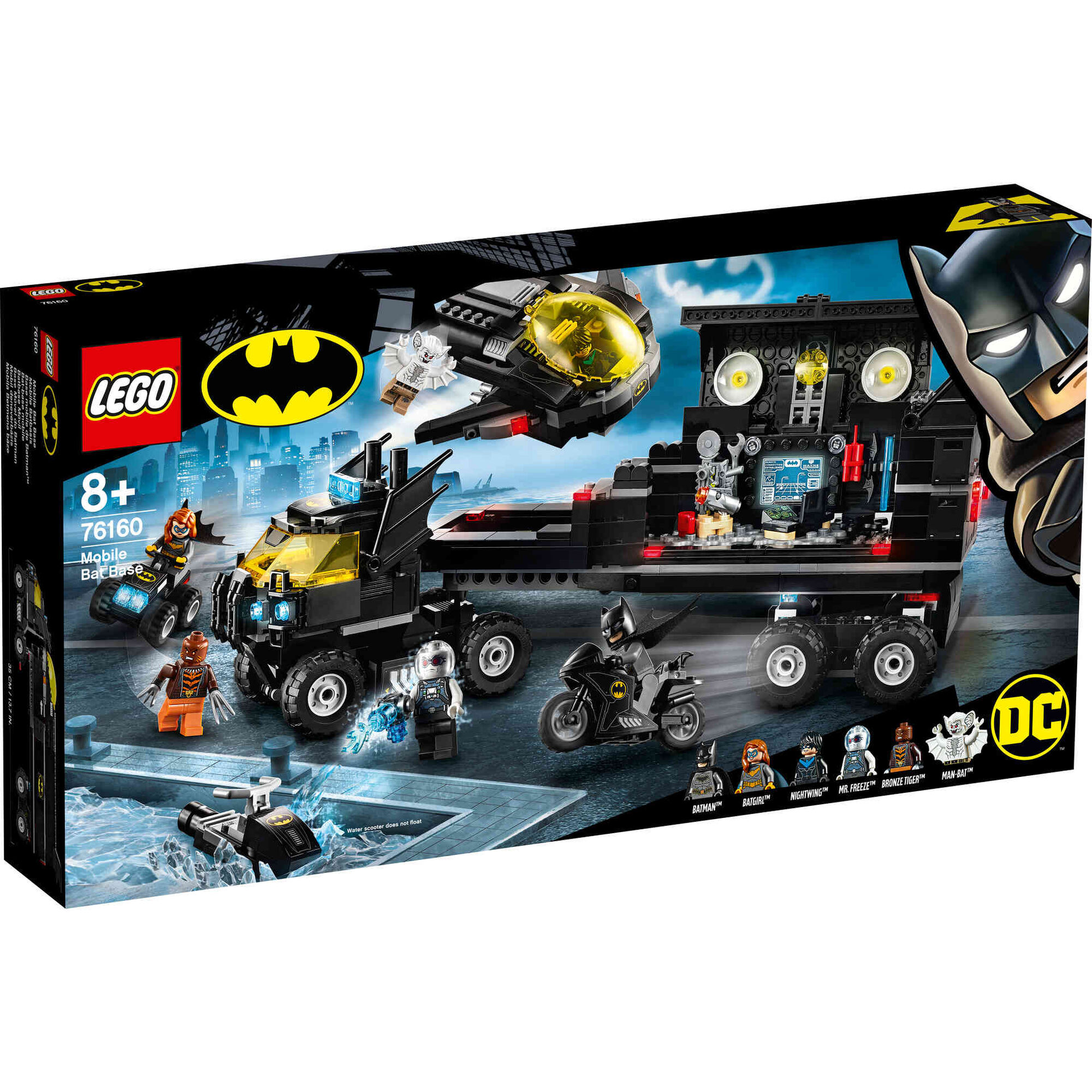 Base Móvel do Batman - 76160