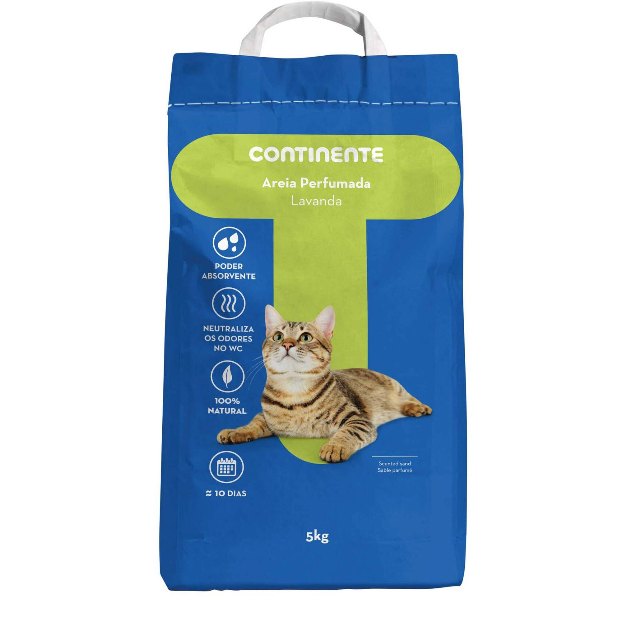 Absorvente para Gato Natural Lavanda