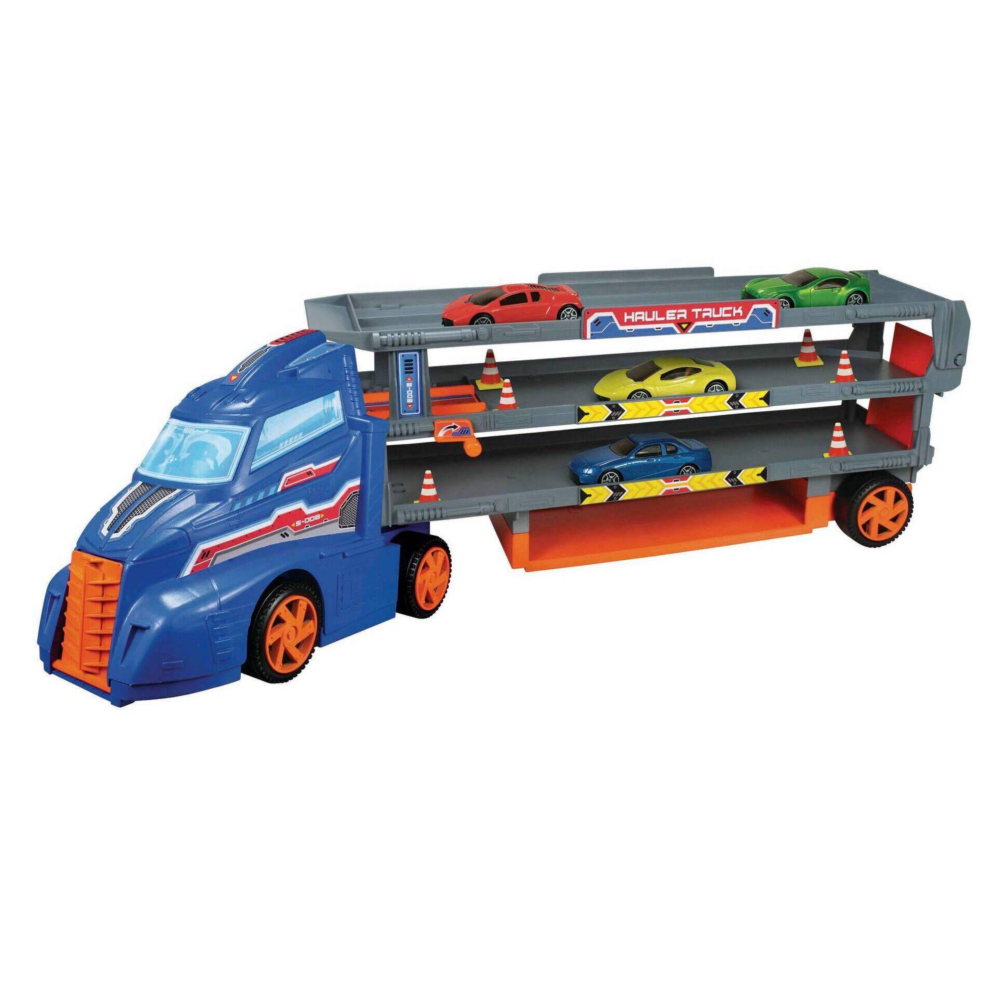 Camião Transporte com 4 Carros