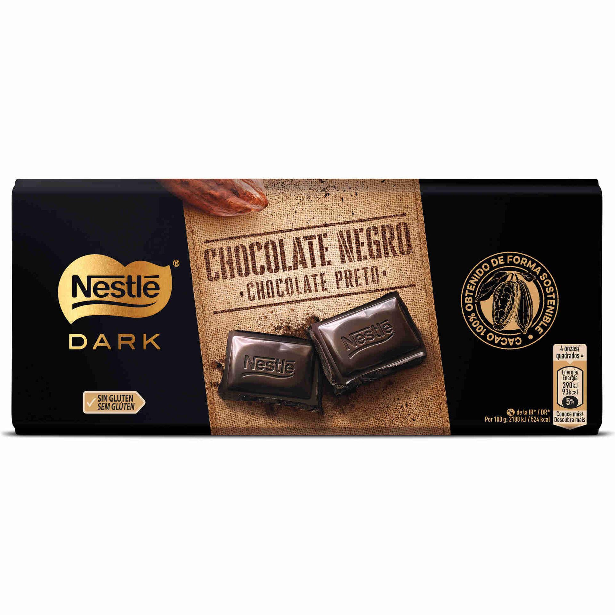 Tablete de Chocolate Preto sem Glúten